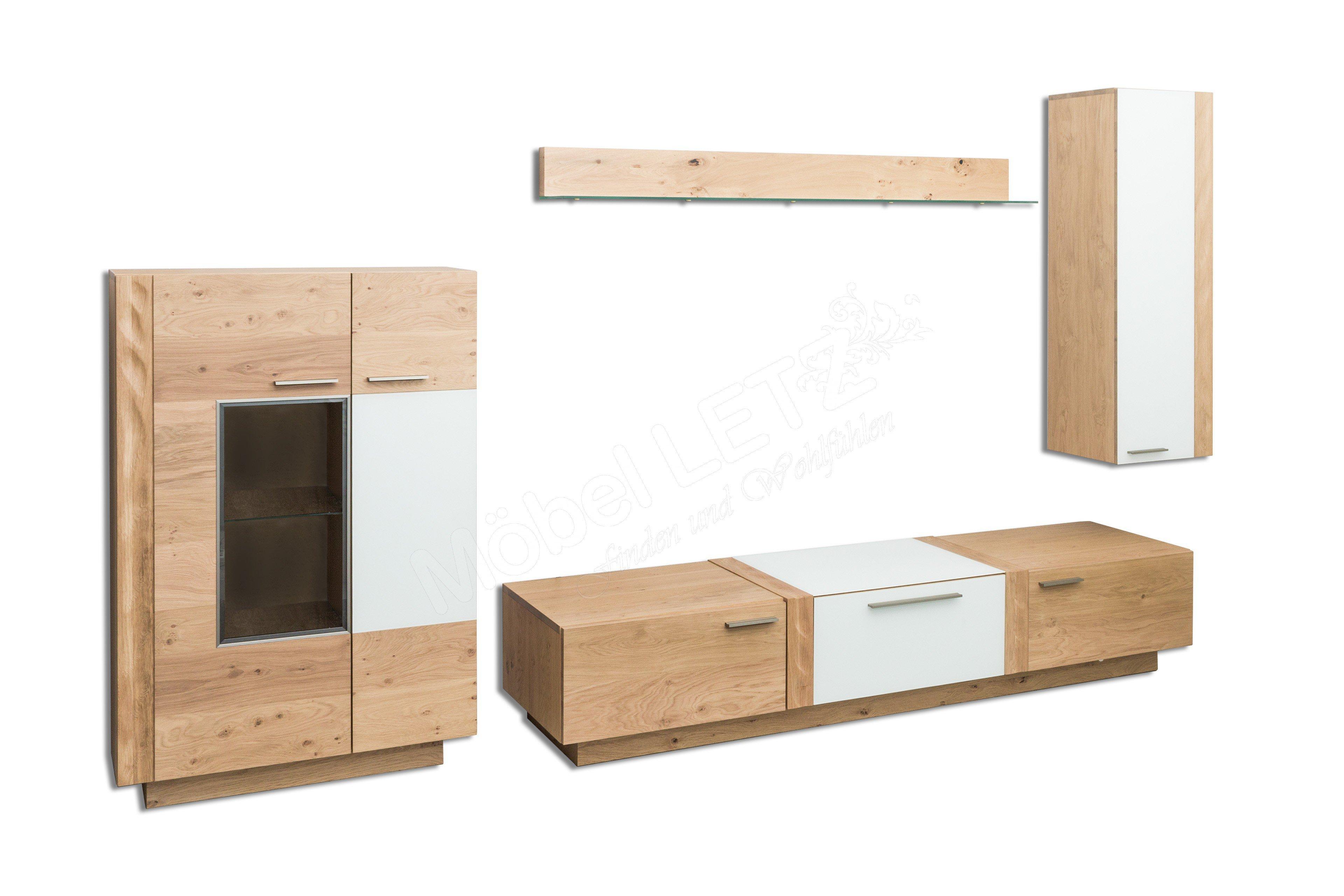 schr der wohnm bel wohnwand kitzalm alpin k005 mit beleuchtung m bel letz ihr online shop. Black Bedroom Furniture Sets. Home Design Ideas