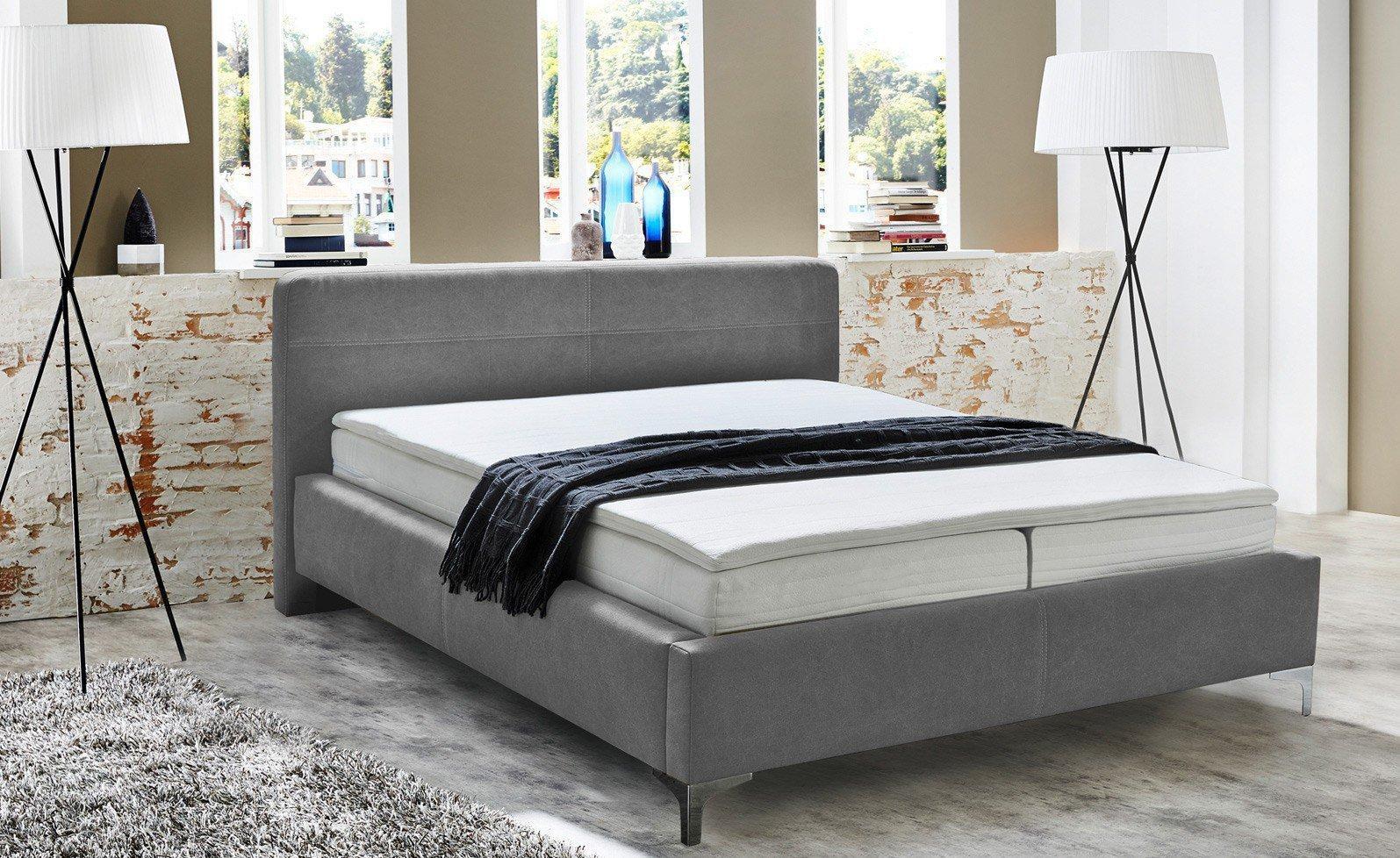 jockenh fer matera darryl boxspringbett mit stoffbezogenem bettgestell m bel letz ihr. Black Bedroom Furniture Sets. Home Design Ideas