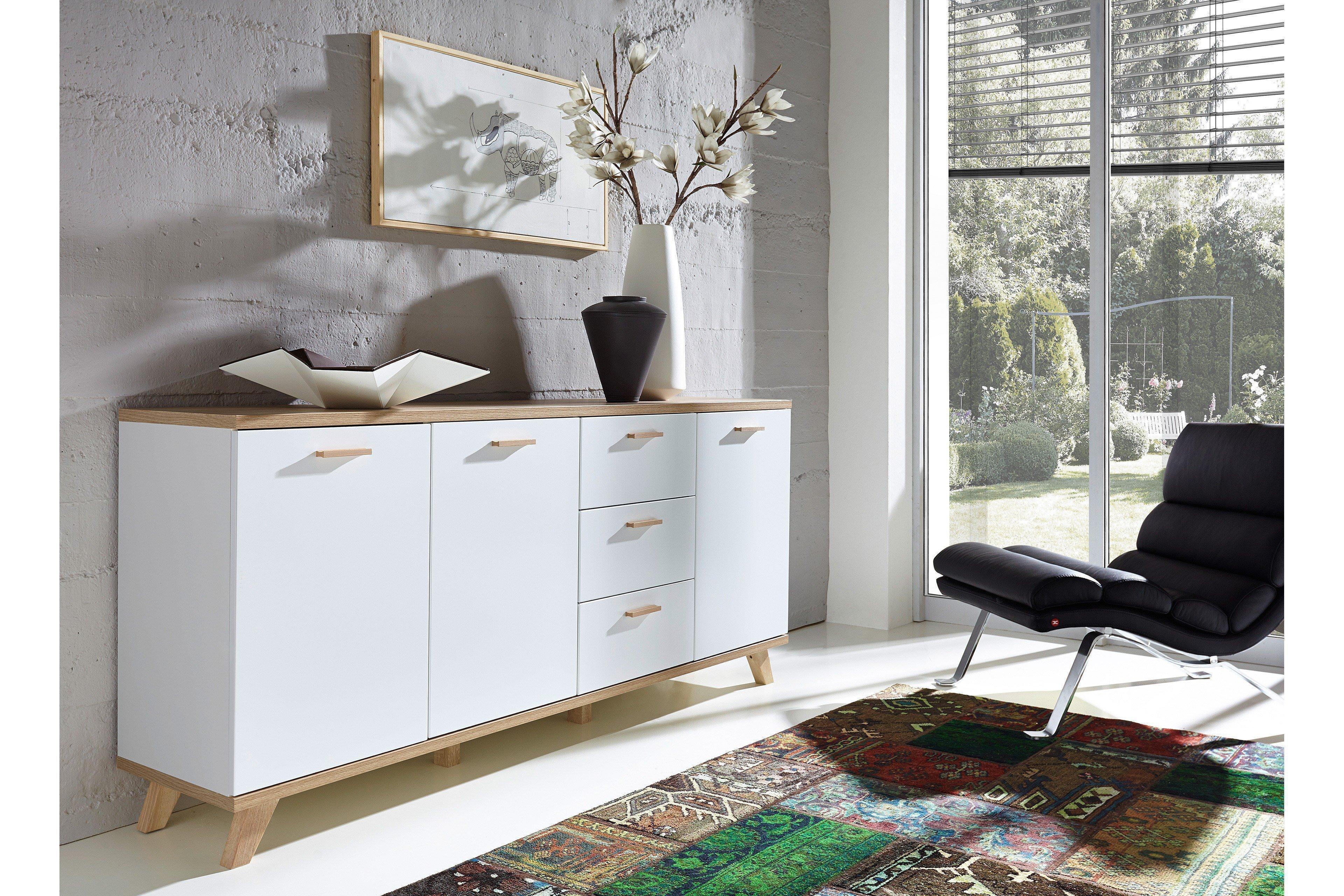 Germania Oslo Sideboard Weiss Mobel Letz Ihr Online Shop