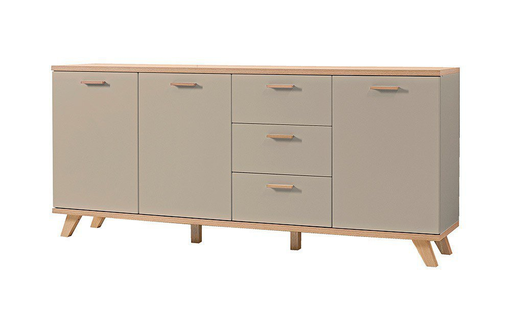 germania sideboard oslo steingrau m bel letz ihr online shop. Black Bedroom Furniture Sets. Home Design Ideas