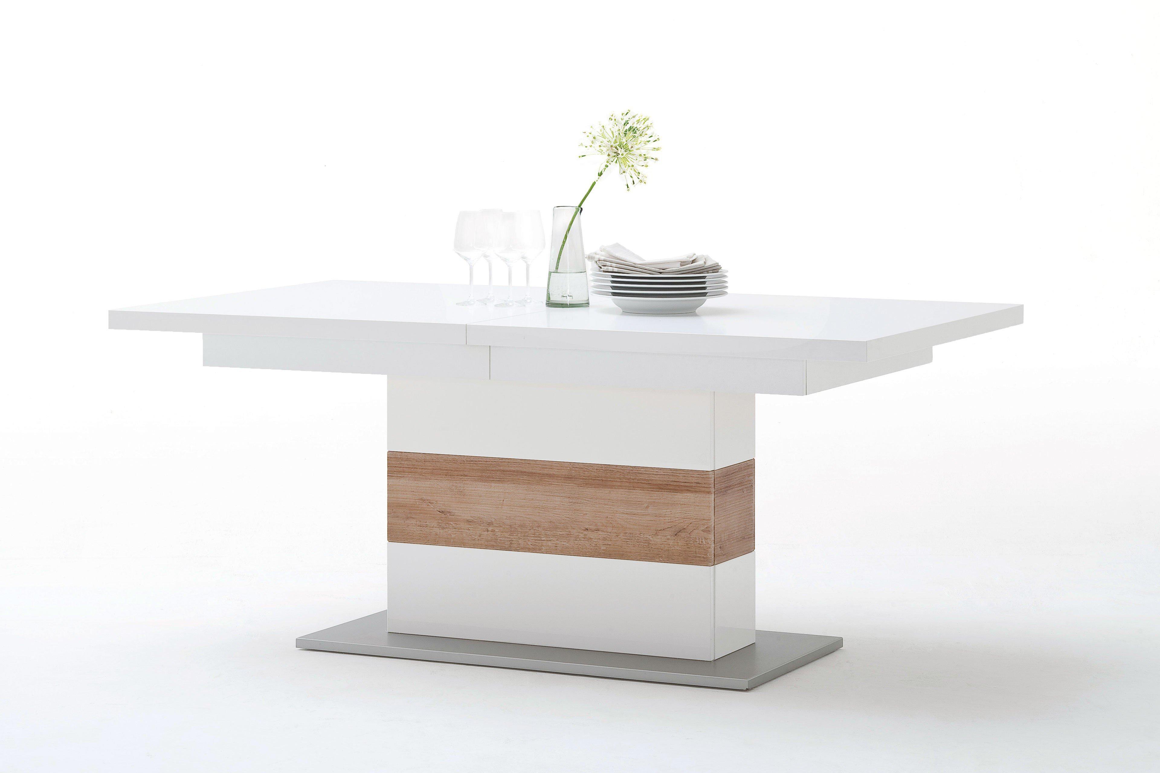 esszimmer wei eiche. Black Bedroom Furniture Sets. Home Design Ideas