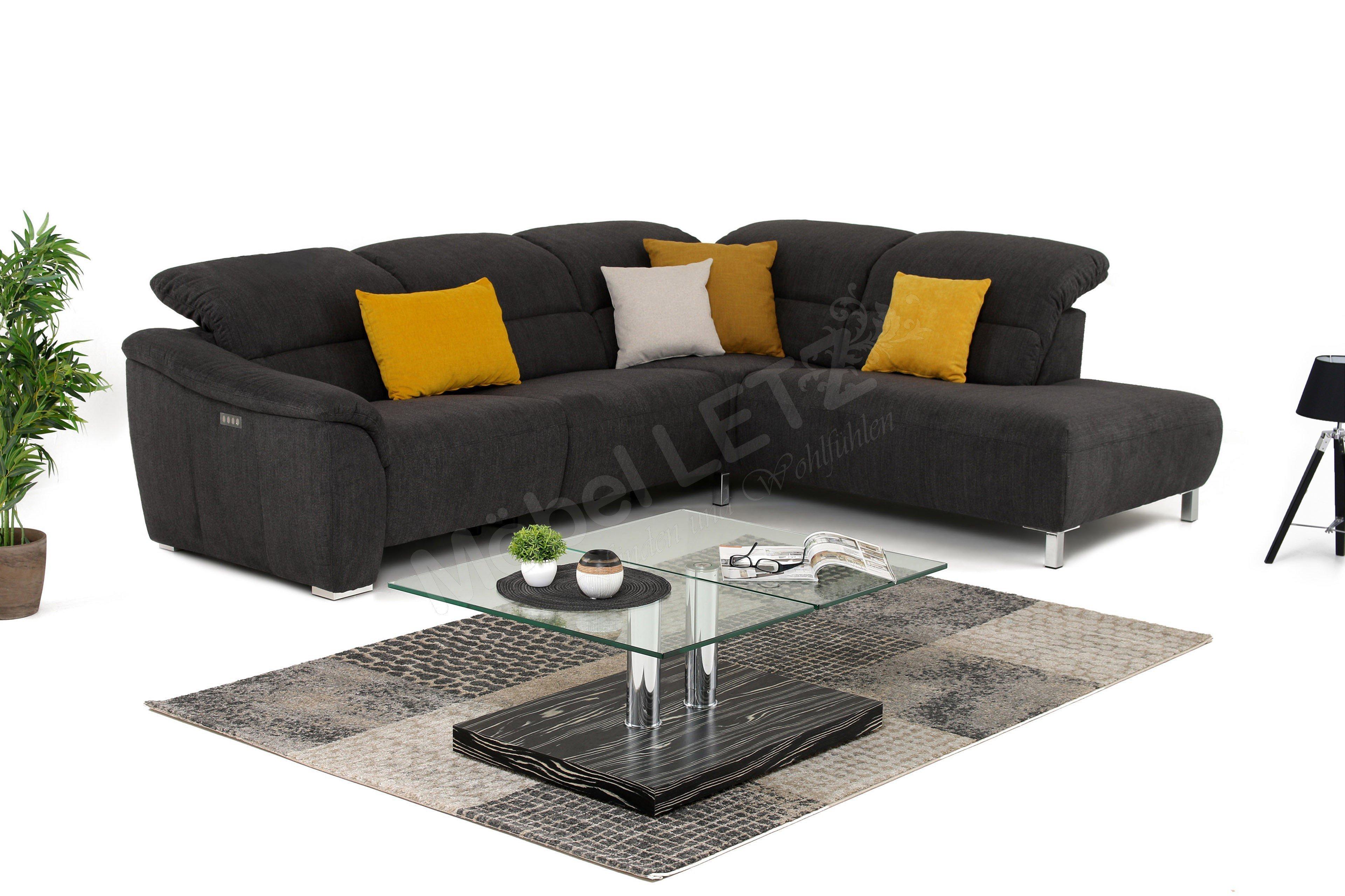 carina polsterm bel java eckgarnitur in dunkelgrau m bel. Black Bedroom Furniture Sets. Home Design Ideas