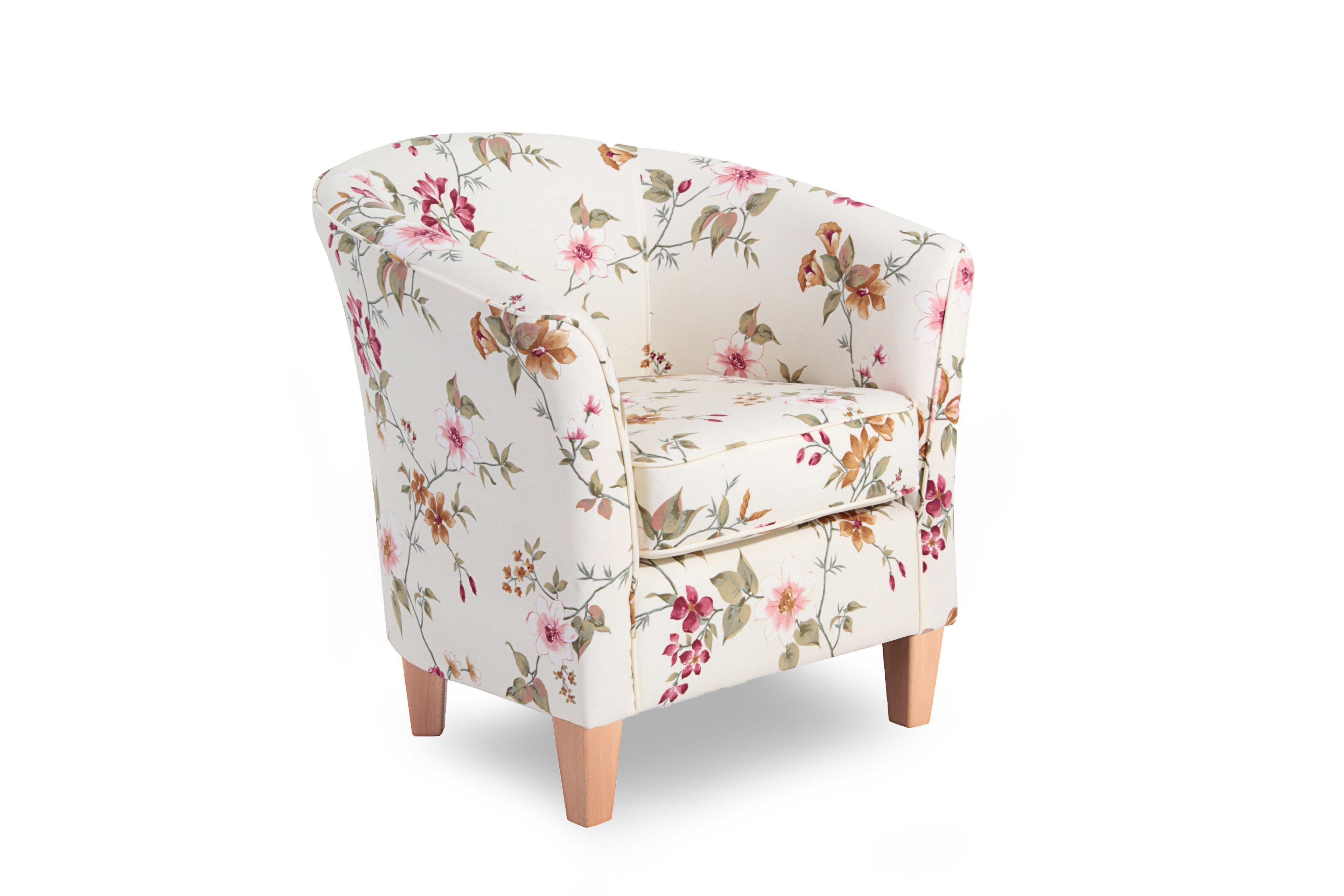 max winzer livia sessel mit blumenmuster m bel letz ihr online shop. Black Bedroom Furniture Sets. Home Design Ideas