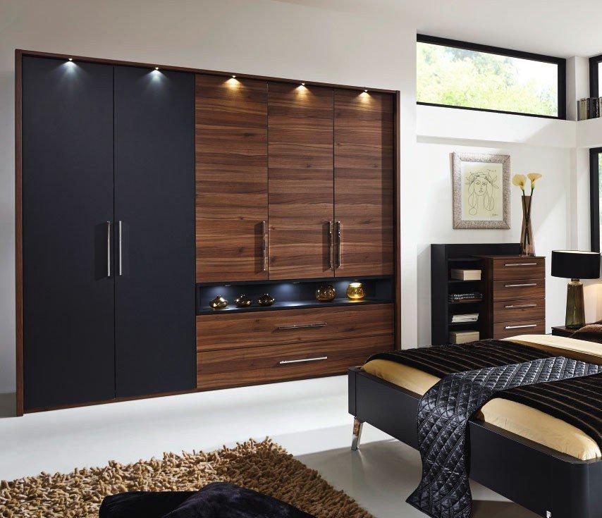 rauch manila schlafzimmer-möbel nussbaum | möbel letz - ihr online