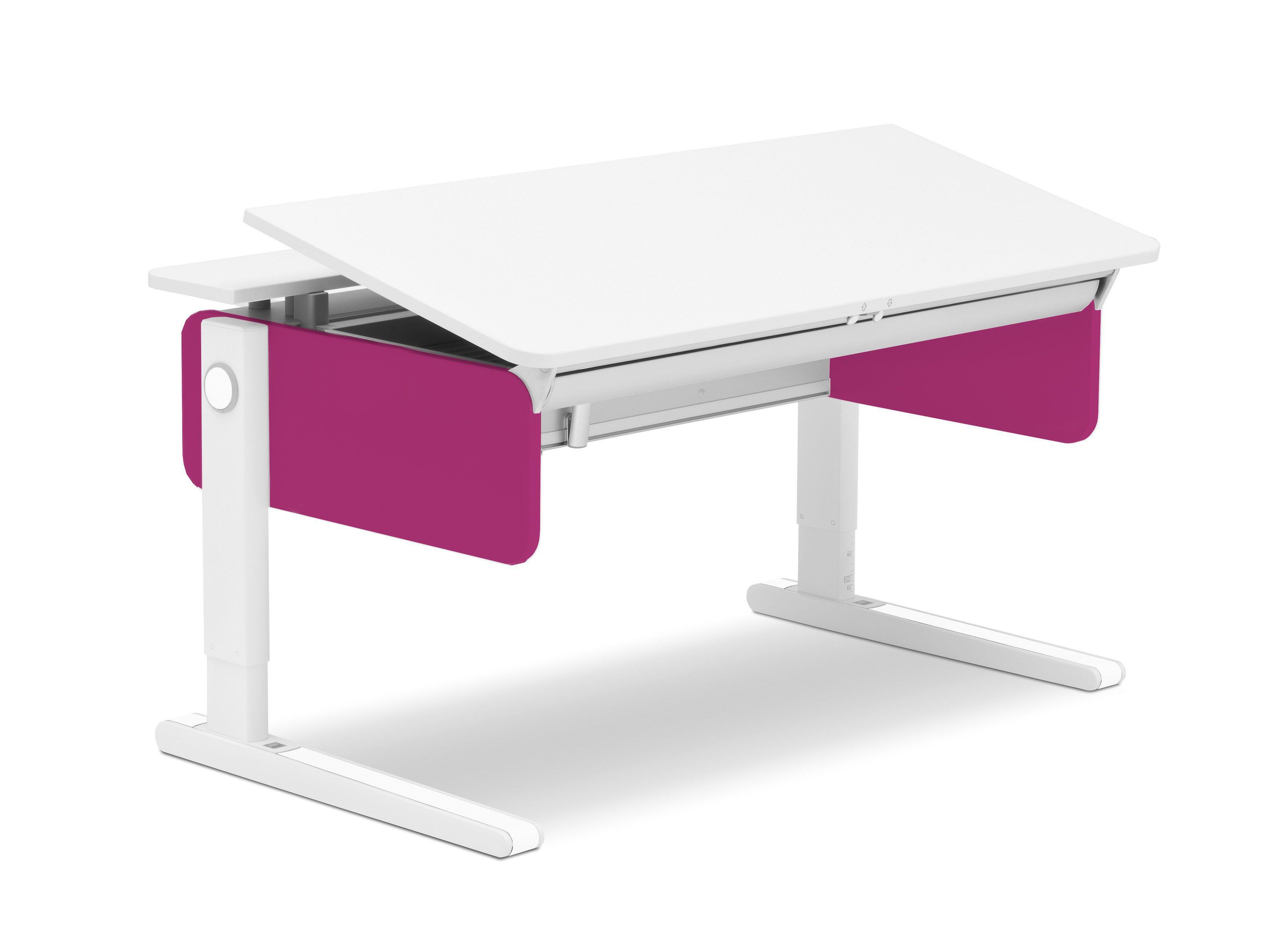 moll champion schreibtisch pink wei m bel letz ihr. Black Bedroom Furniture Sets. Home Design Ideas