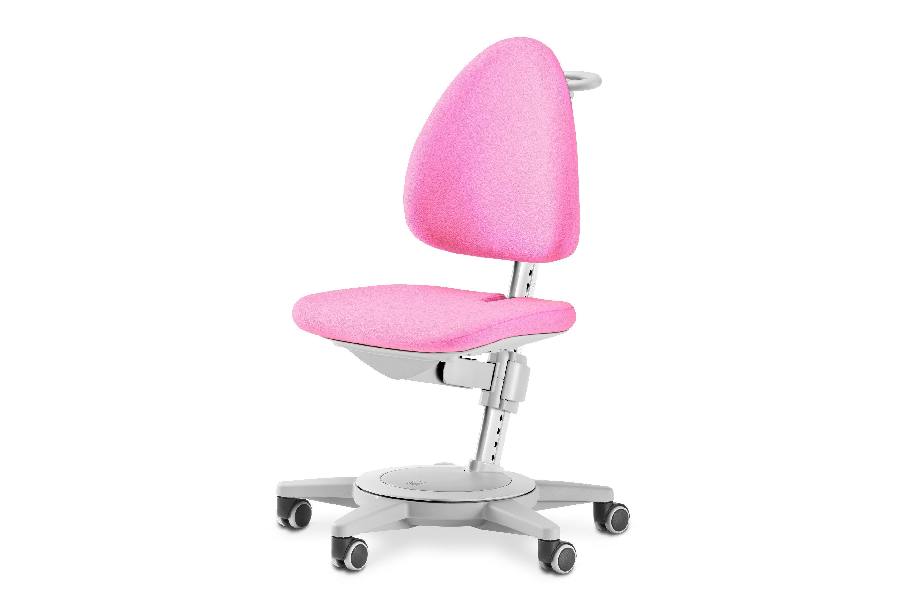 Maximo 15 Von Moll   Schreibtisch Stuhl Rosa Grau