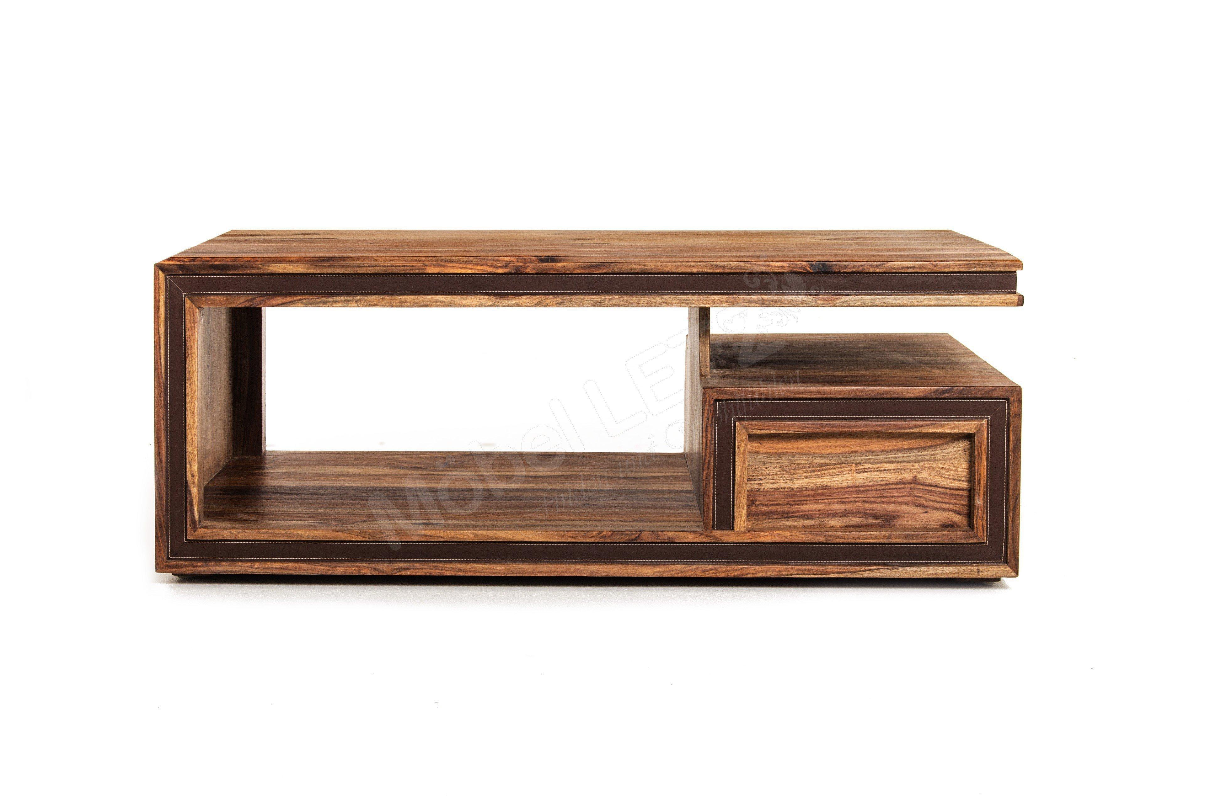 couchtisch shan in massivem sheesham holz von wolf m bel. Black Bedroom Furniture Sets. Home Design Ideas