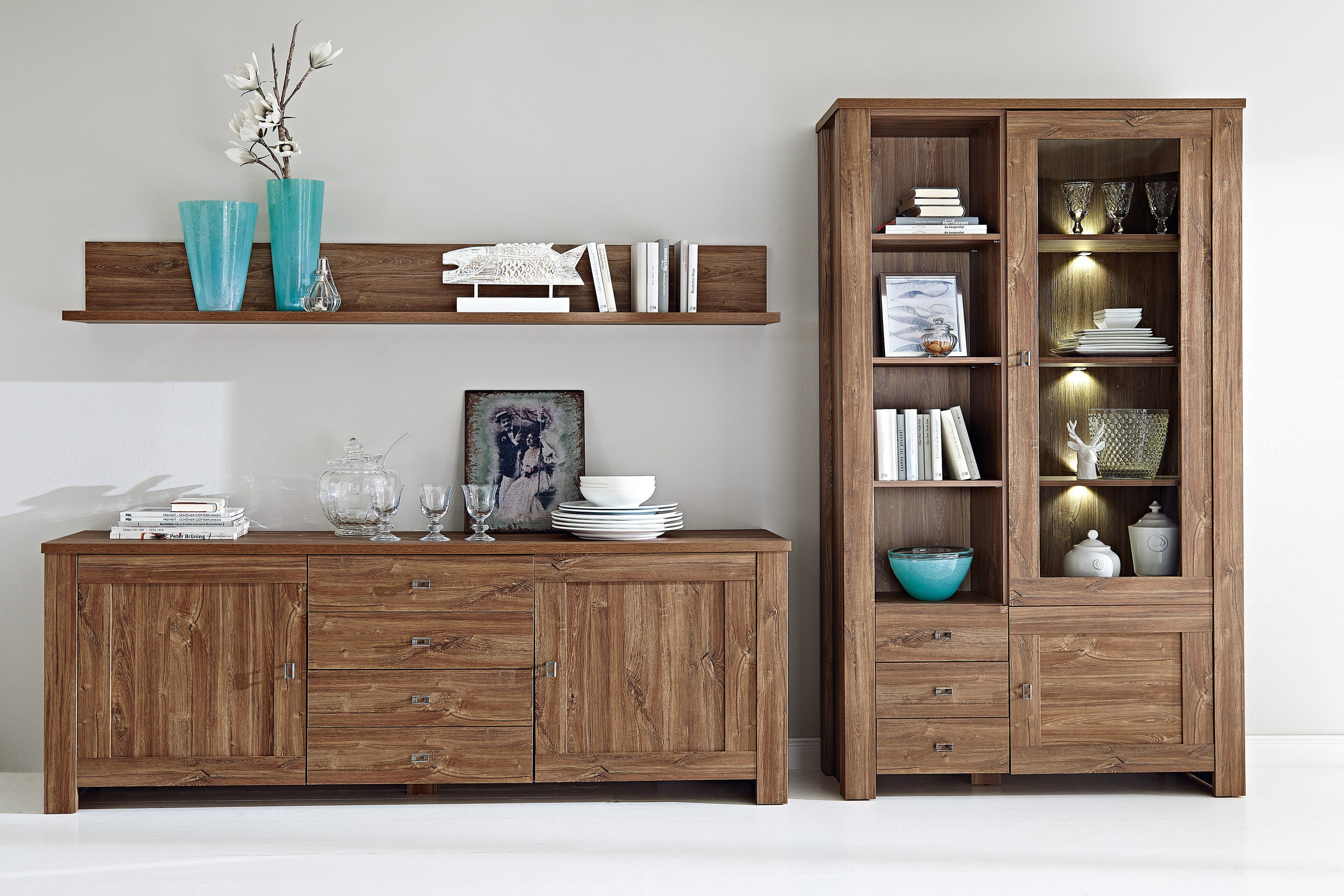 innostyle sideboard br ssel in akazie dunkel m bel letz ihr online shop. Black Bedroom Furniture Sets. Home Design Ideas