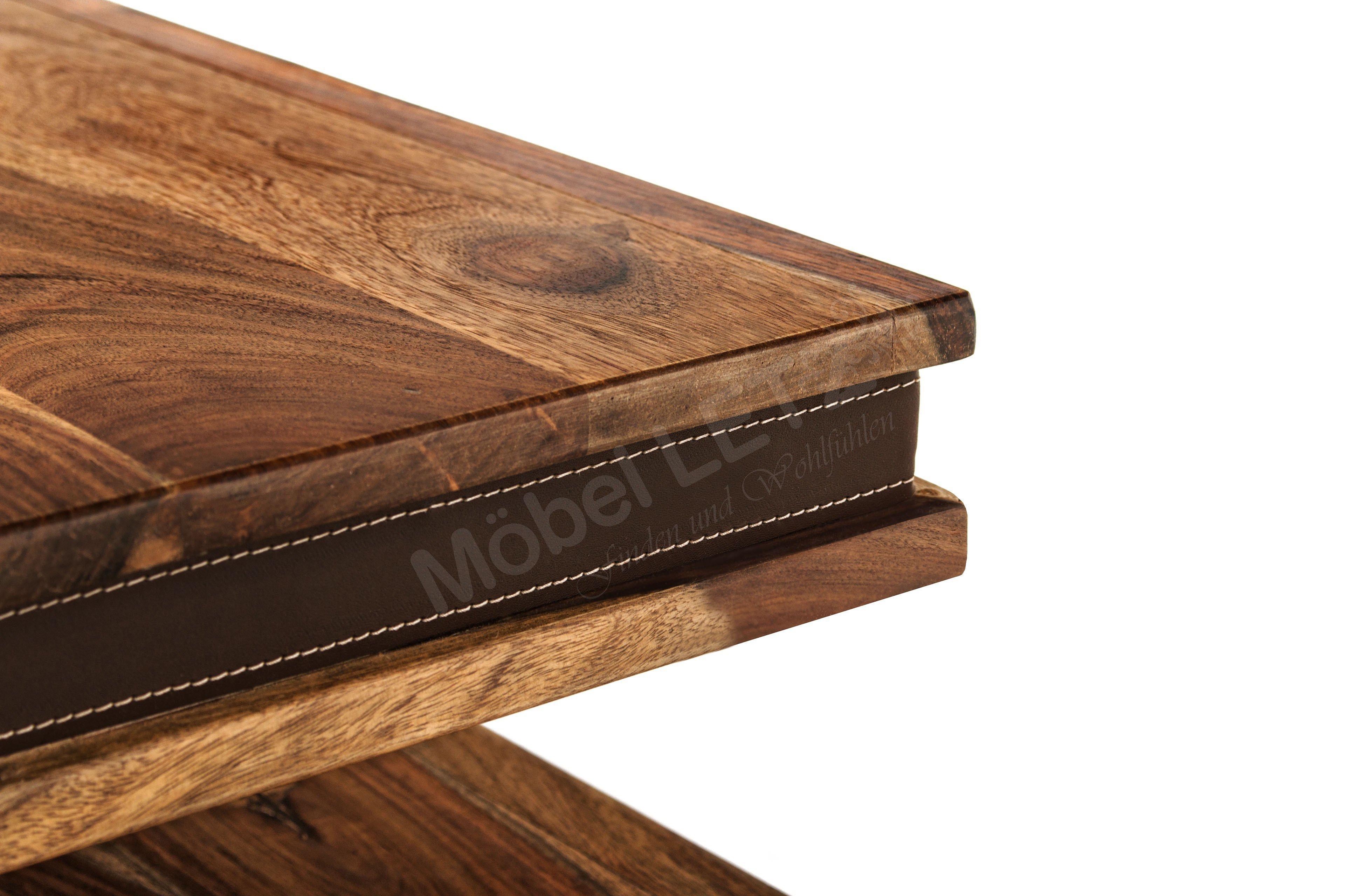 couchtisch shan sheesham mit schubkasten von wolf m bel. Black Bedroom Furniture Sets. Home Design Ideas