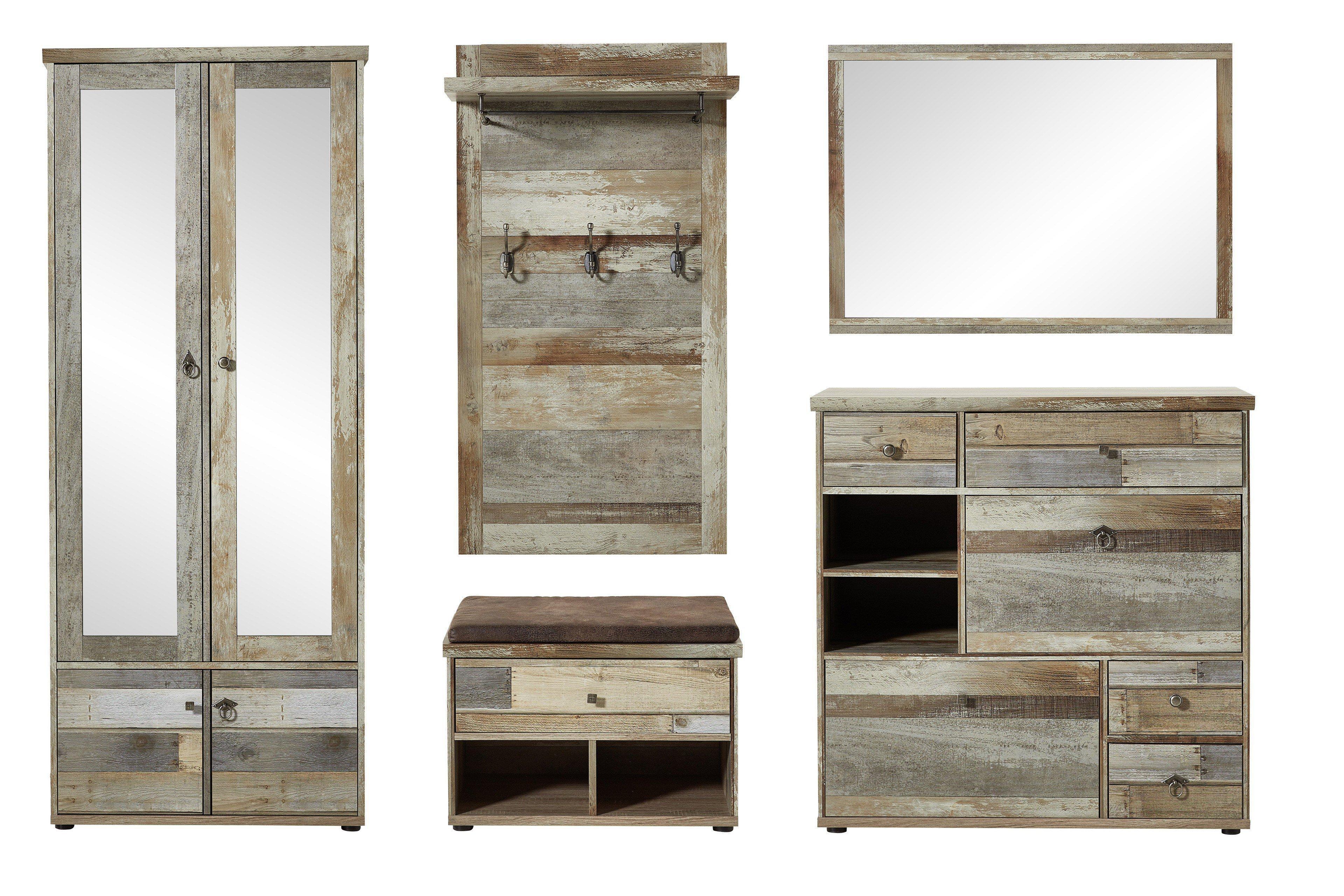 innostyle garderobe bonanza sonderangebot m bel letz ihr online shop. Black Bedroom Furniture Sets. Home Design Ideas