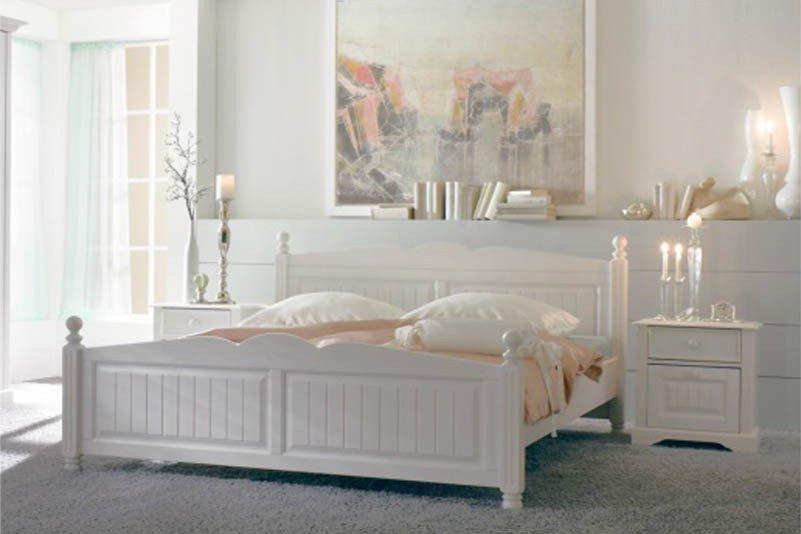 Cinderella Premium Von SchlafKONTOR   Bett Kiefer Landhaus Stil