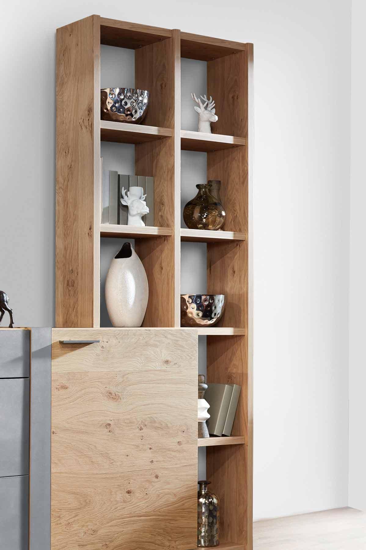 schr der m bel sideboard alpin wildasteiche aluminium m bel letz ihr online shop. Black Bedroom Furniture Sets. Home Design Ideas