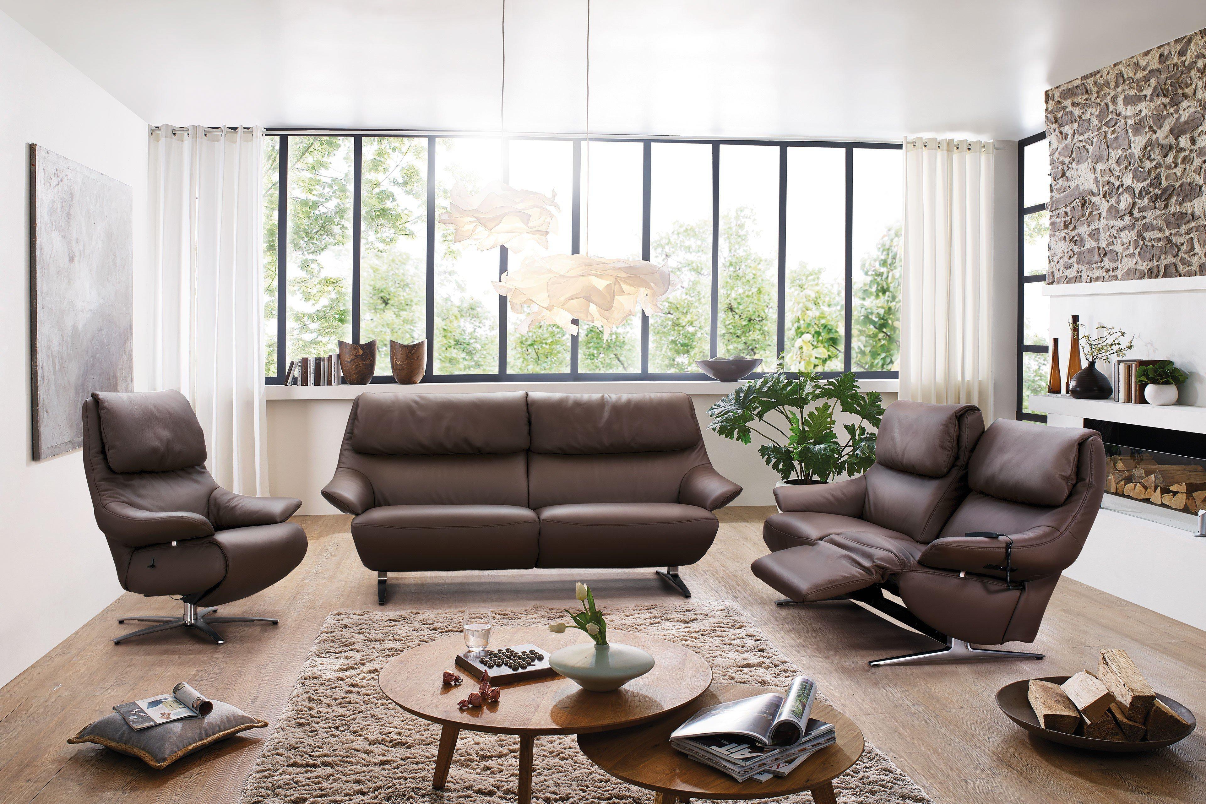 himolla polsterm bel 4602 polstergarnitur braun m bel. Black Bedroom Furniture Sets. Home Design Ideas