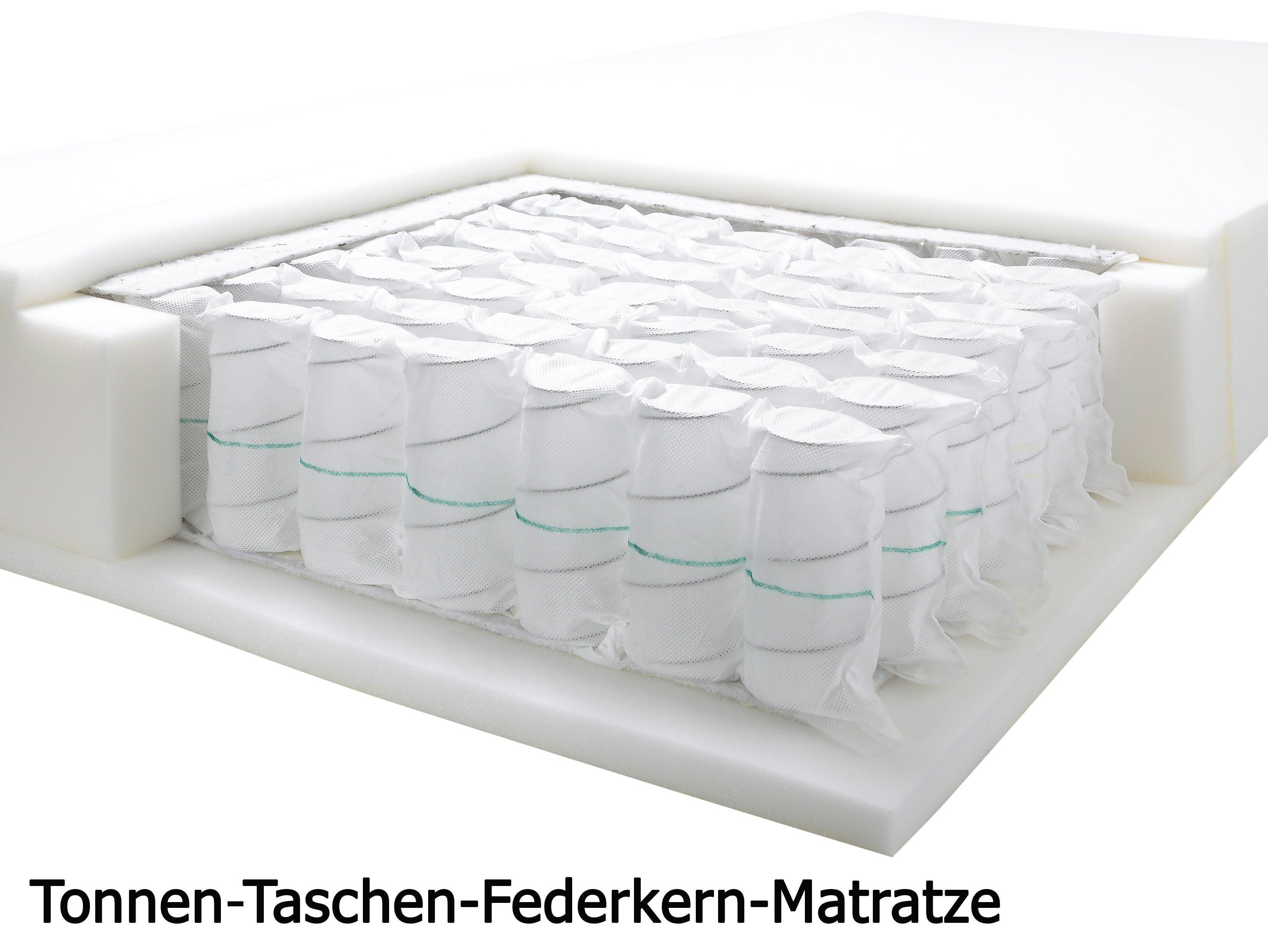 1801 Von Stellwerk   Boxspringbett 180 Schwarz