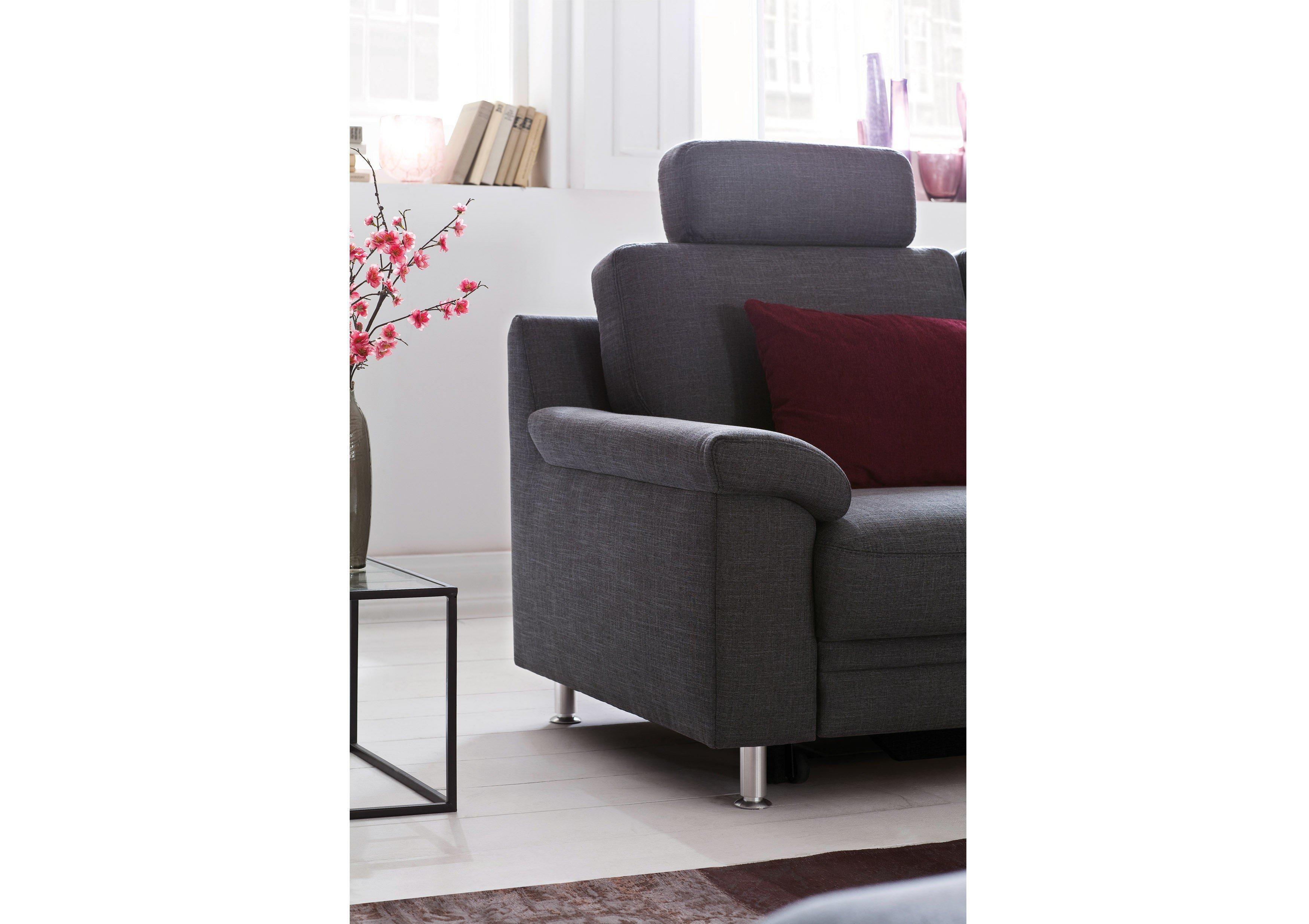 carina polsterm bel cora polsterecke in grau m bel letz ihr online shop. Black Bedroom Furniture Sets. Home Design Ideas