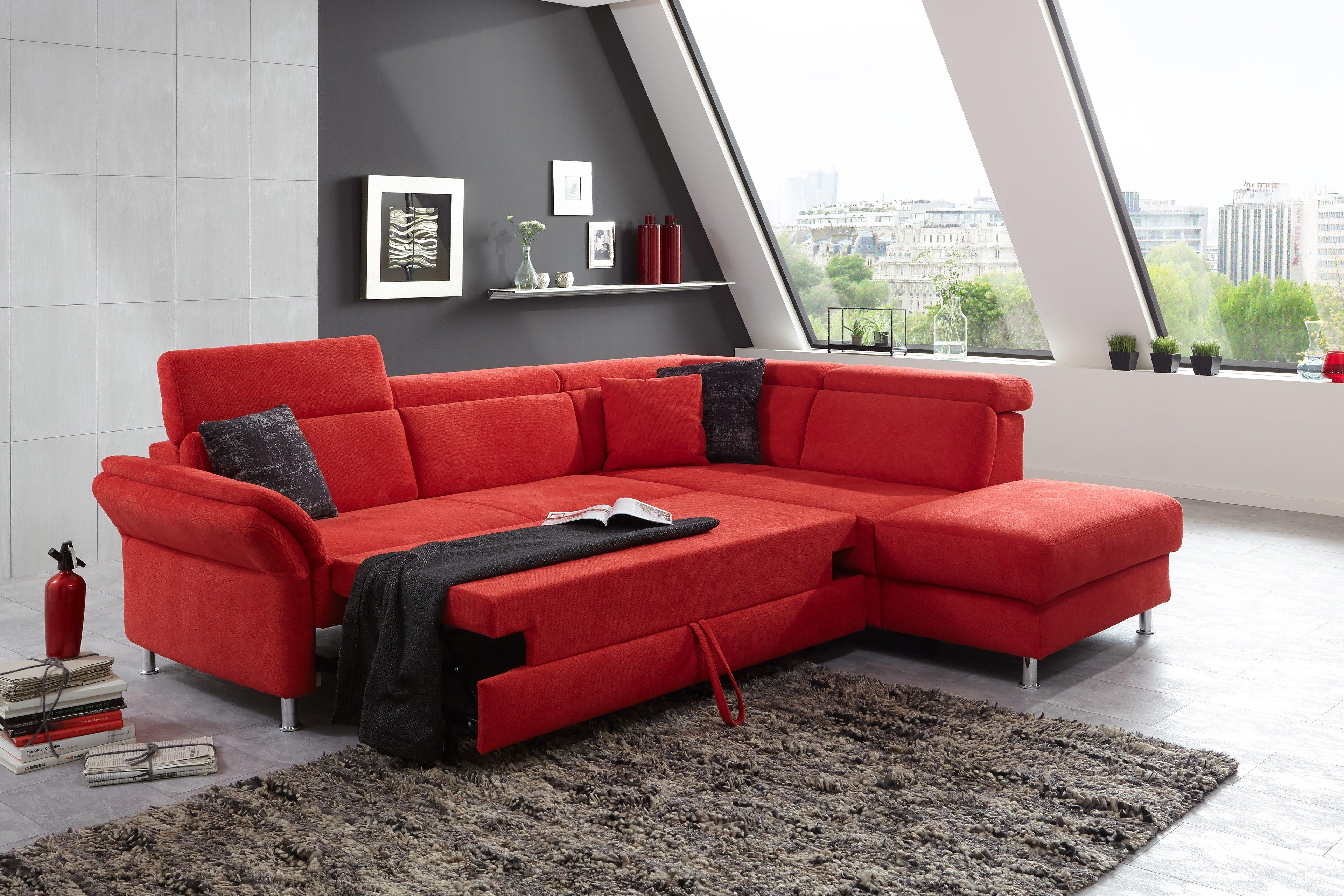 sit more home basic avignon eckgarnitur rot m bel letz ihr online shop. Black Bedroom Furniture Sets. Home Design Ideas