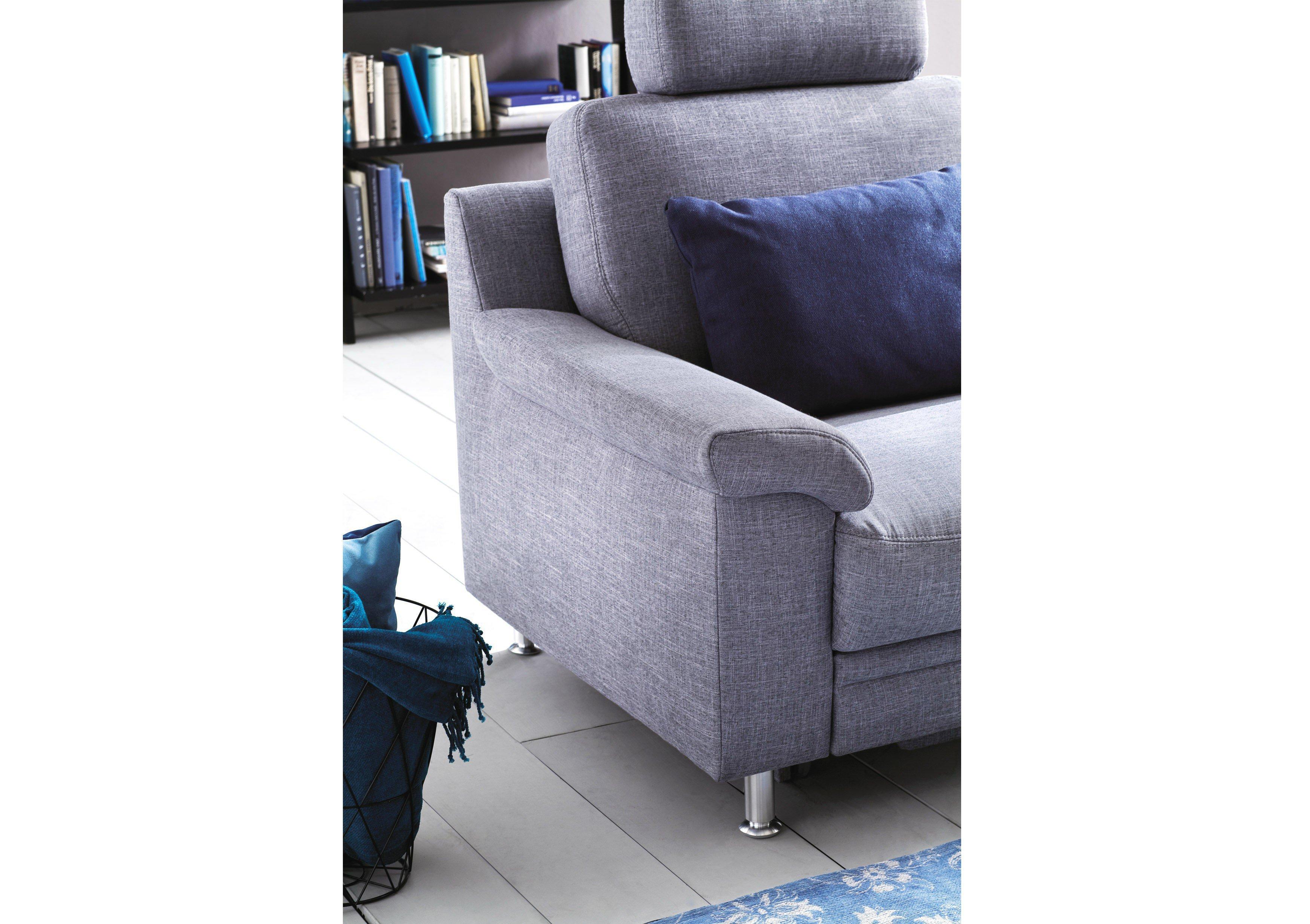 carina polsterm bel cora eckgarnitur in hellgrau m bel. Black Bedroom Furniture Sets. Home Design Ideas