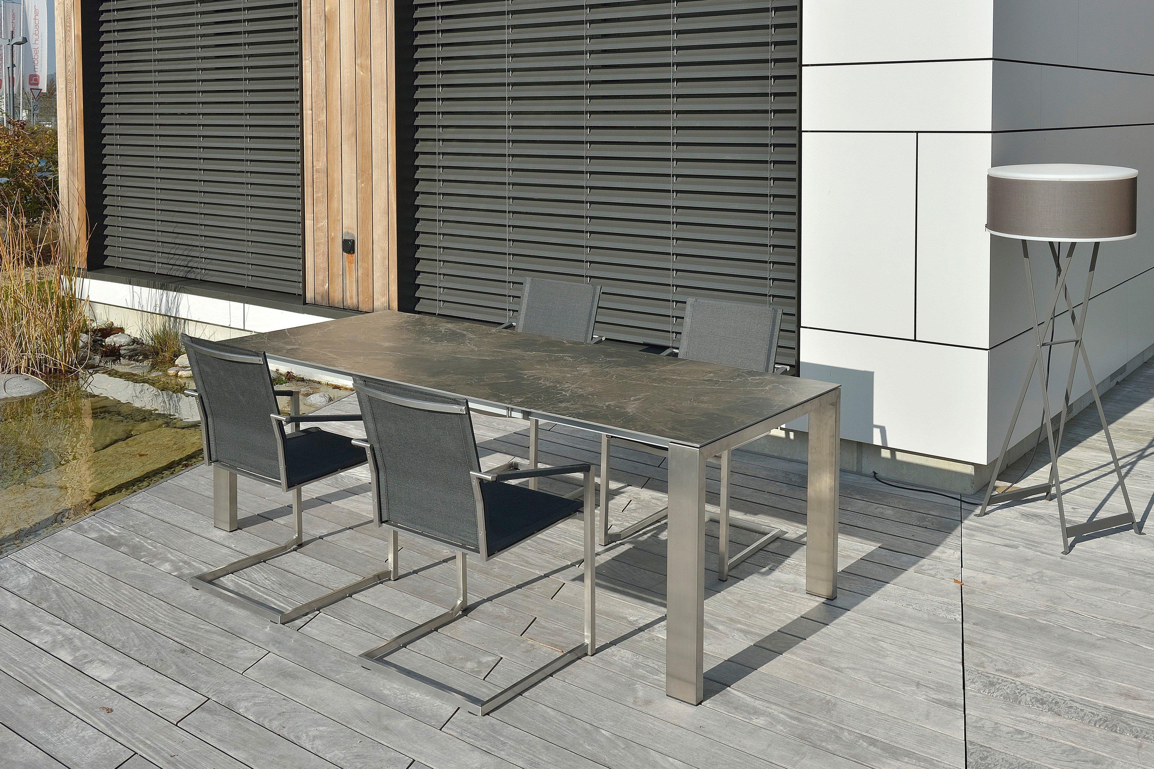 Sit Mobilia Gartentisch Oslo Mit Ausziehbarer Keramikplatte Mobel