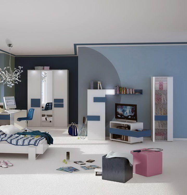 hilight von r hr bush jugendzimmer blau online kaufen 39. Black Bedroom Furniture Sets. Home Design Ideas