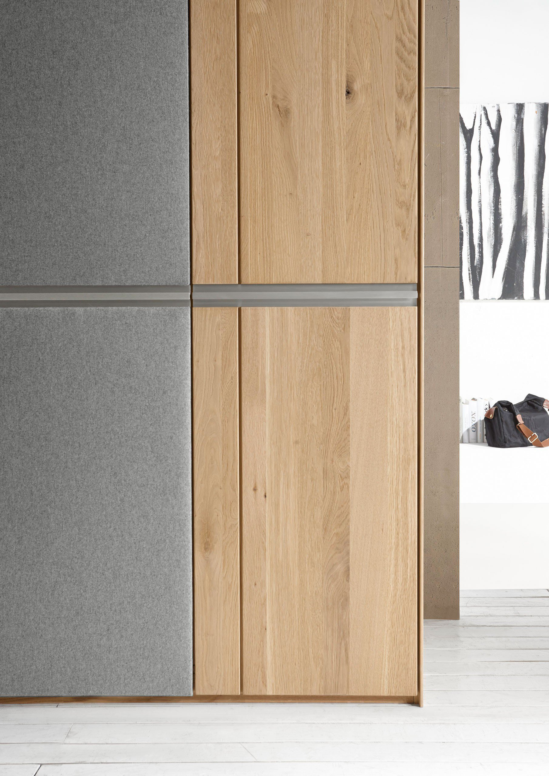 Loddenkemper Leno Schrank Eiche Glas   Möbel Letz - Ihr Online-Shop