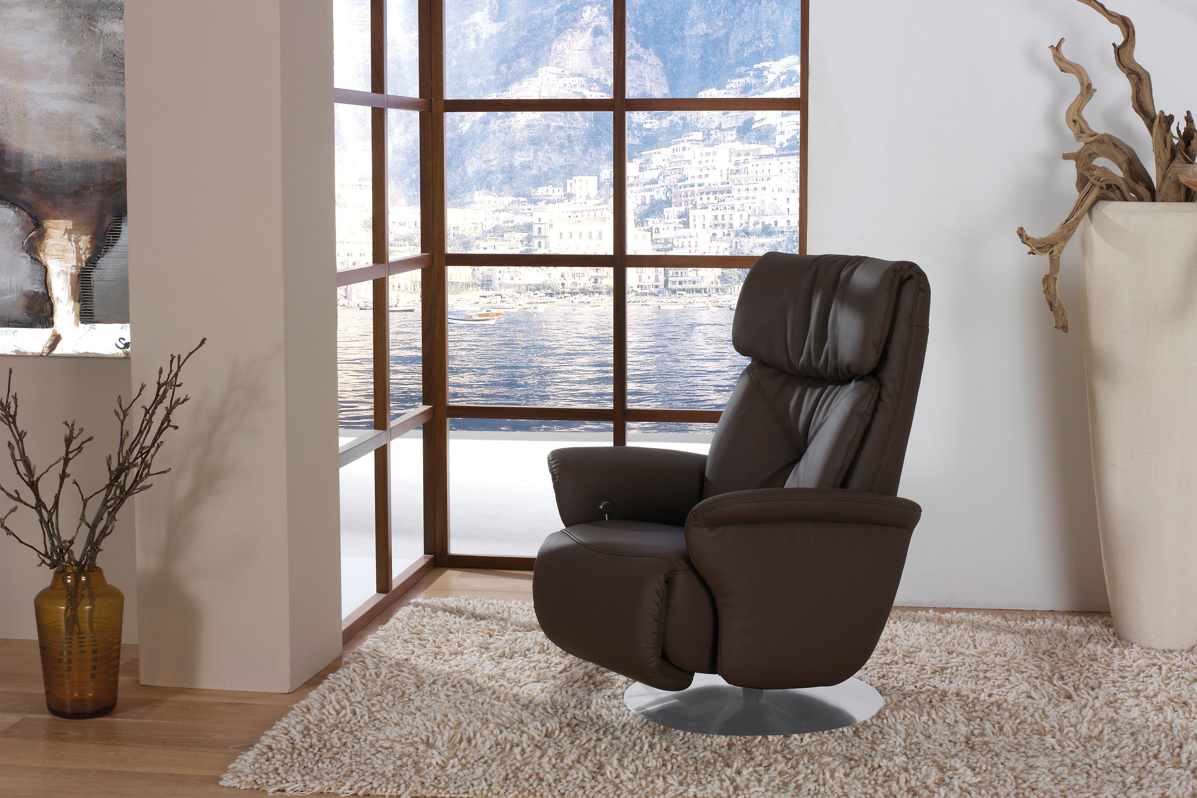 himolla 7243 funktionssessel braun m bel letz ihr online shop. Black Bedroom Furniture Sets. Home Design Ideas