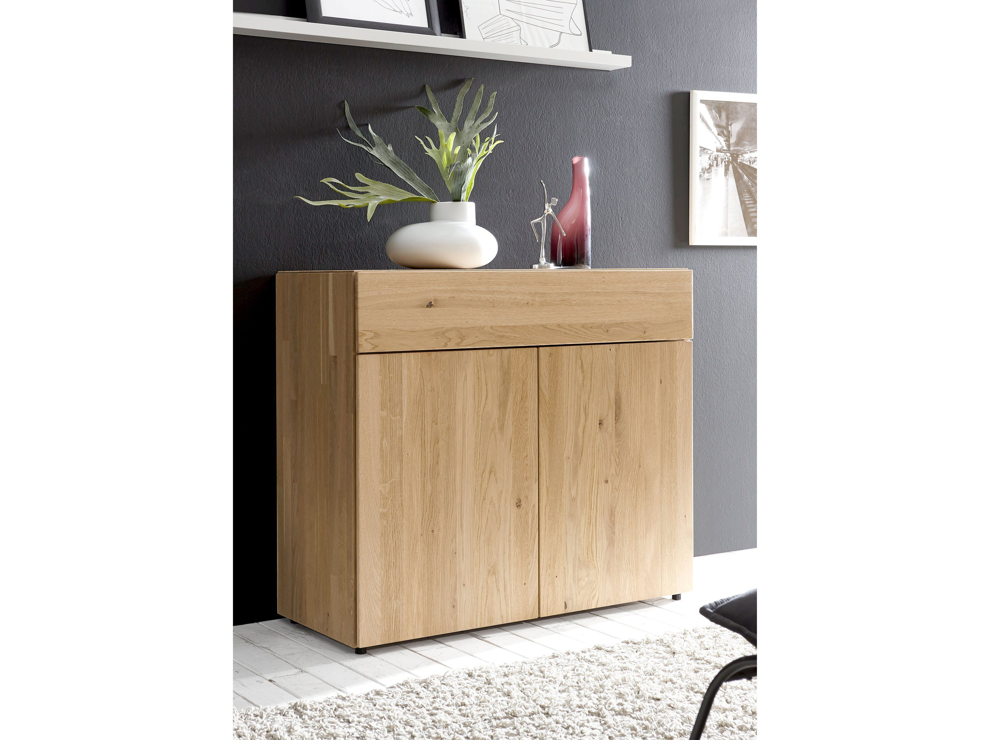 loddenkemper leno kommode eiche massiv m bel letz ihr. Black Bedroom Furniture Sets. Home Design Ideas