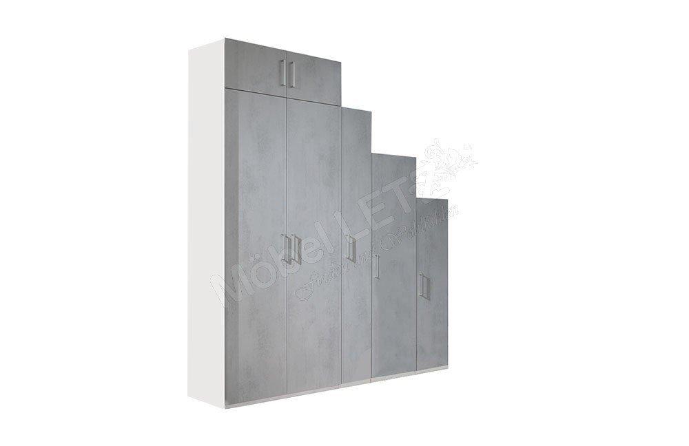 Wellem bel ksw 2 0 schrank in betonoptik m bel letz for Schrank jugend