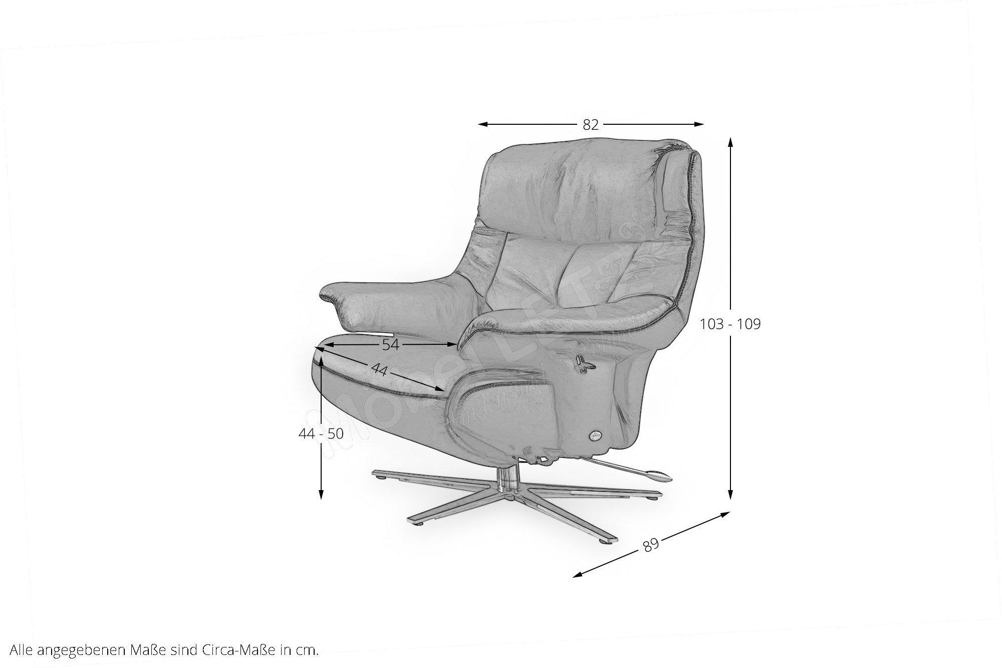 himolla 7501 relaxsessel schwarz m bel letz ihr online shop. Black Bedroom Furniture Sets. Home Design Ideas