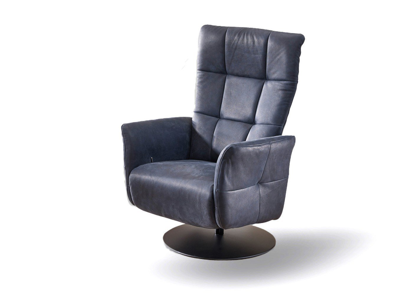 k w 7302 drehsessel blau m bel letz ihr online shop. Black Bedroom Furniture Sets. Home Design Ideas