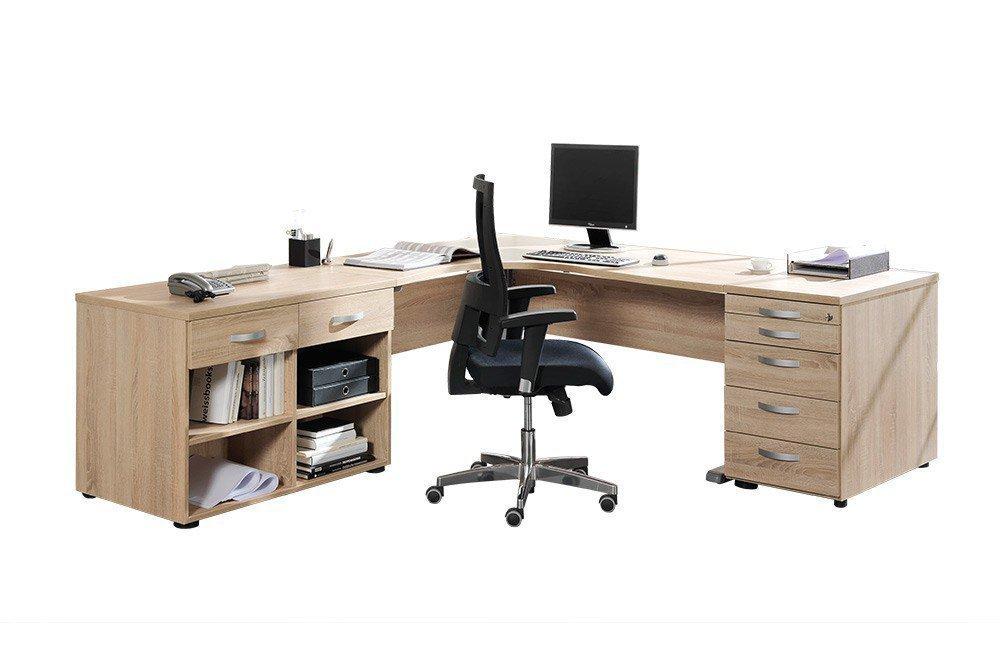 Welle JobExpress Büromöbel Wildeiche | Möbel Letz - Ihr Online-Shop