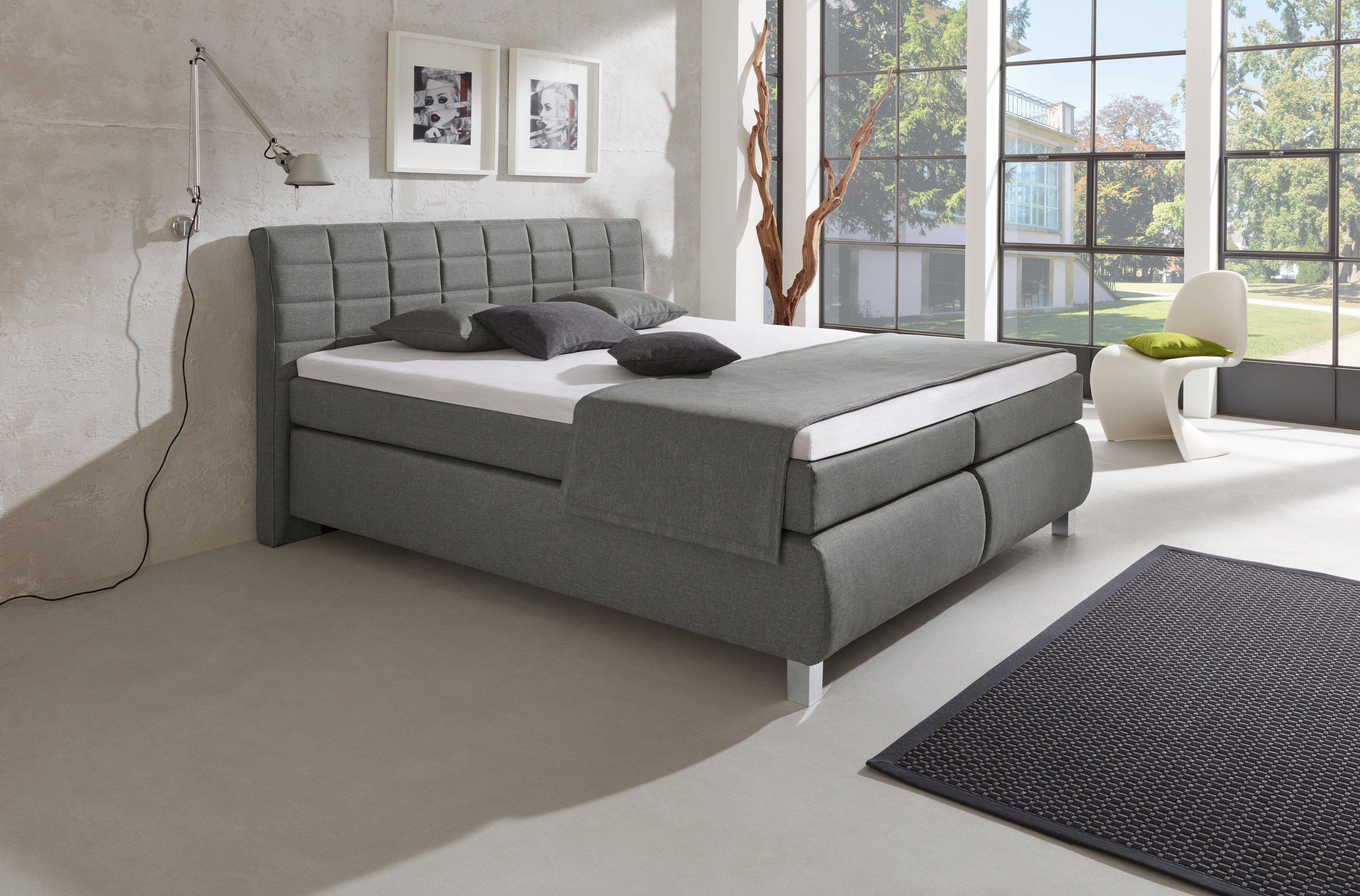 lovely einfache dekoration und mobel ein trend der nicht abreisst boxspringbetten #2: Lexos von HAPO - Boxspringbett KT2 grau
