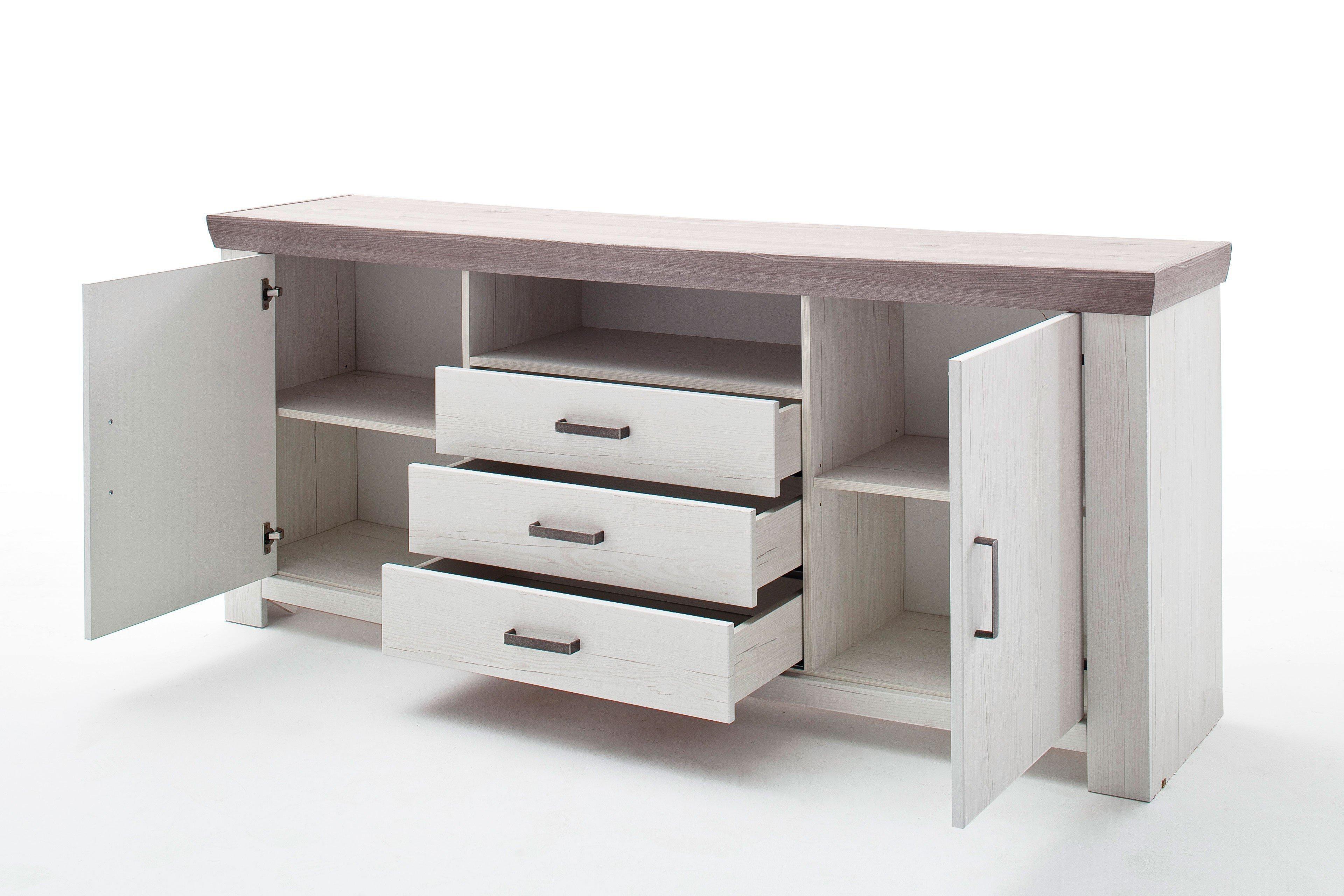2fc2f58cb1c487 Mca Bozen Sideboard Eiche Pinie Möbel Letz Ihr Online Shop