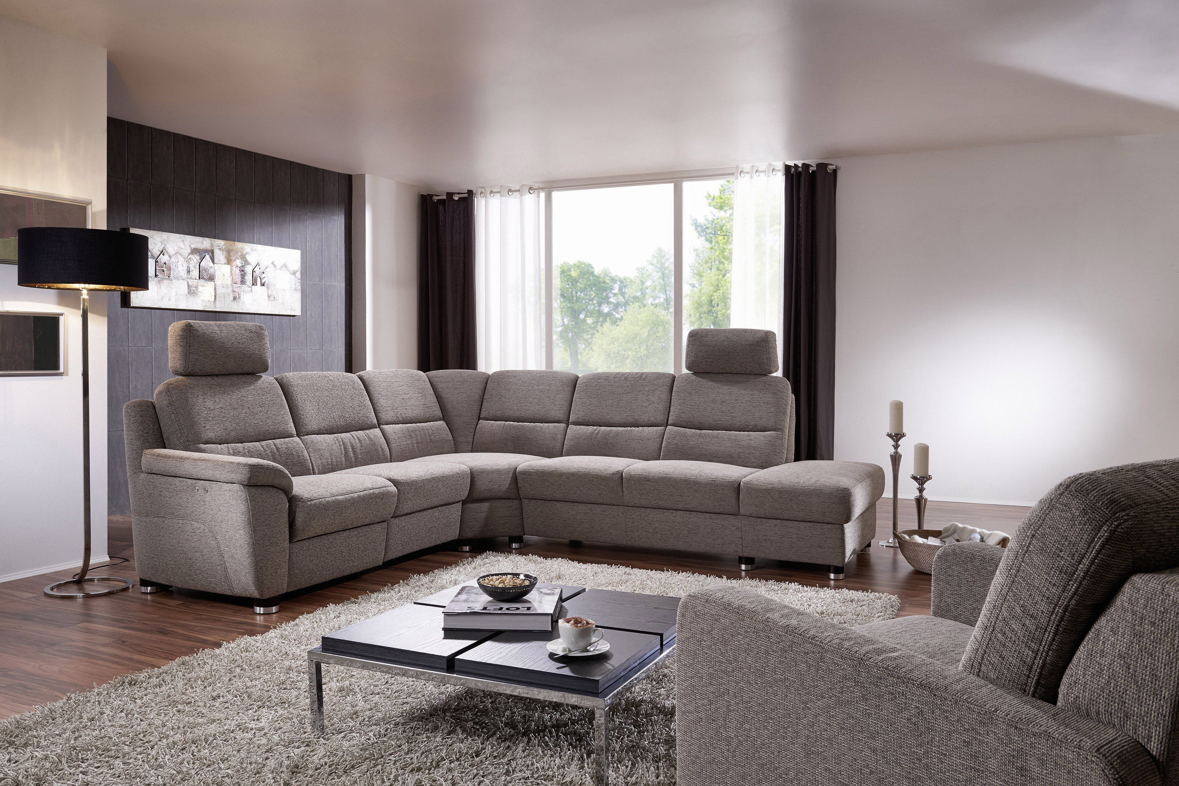arco polsterm bel dreamer 5006 sofa grau m bel letz ihr online shop. Black Bedroom Furniture Sets. Home Design Ideas