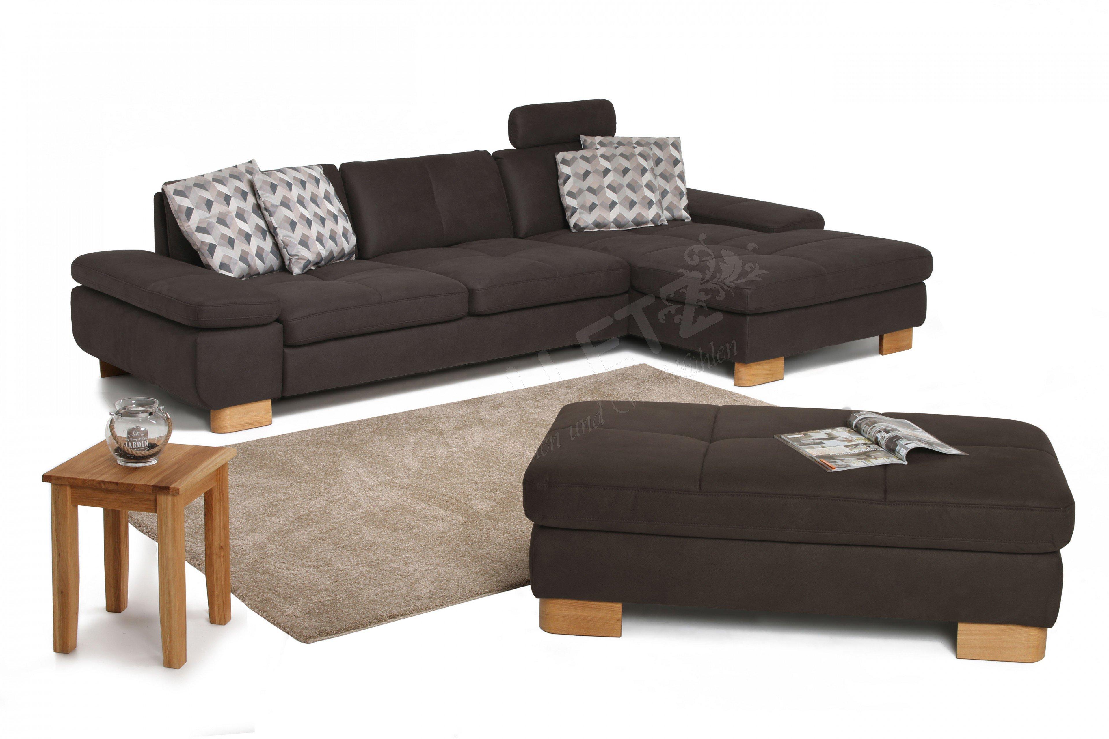 ada trendline garnitur 6629 in braun m bel letz ihr. Black Bedroom Furniture Sets. Home Design Ideas