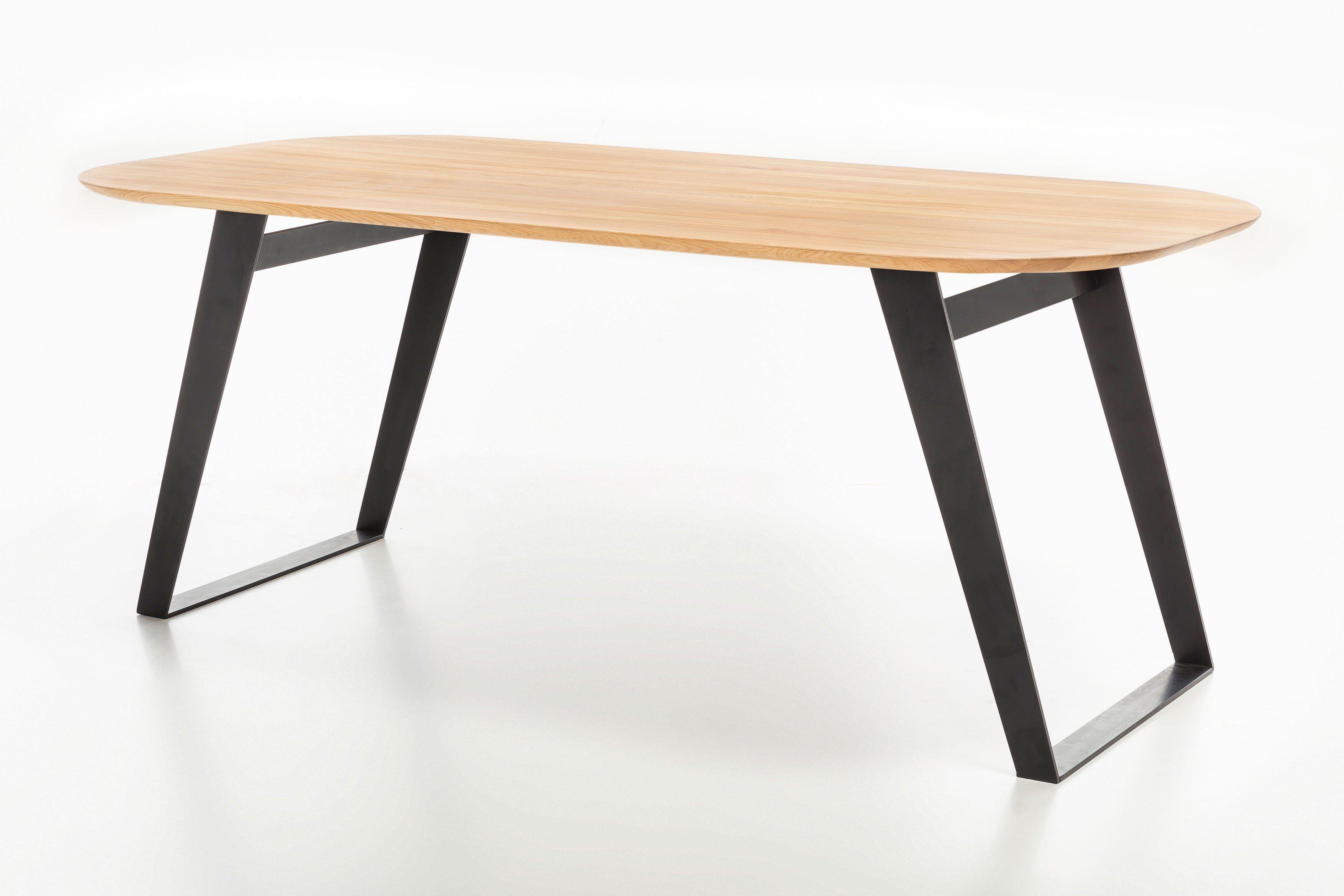 ovaler esstisch ottawa von standard furniture in eiche m bel letz ihr online shop. Black Bedroom Furniture Sets. Home Design Ideas