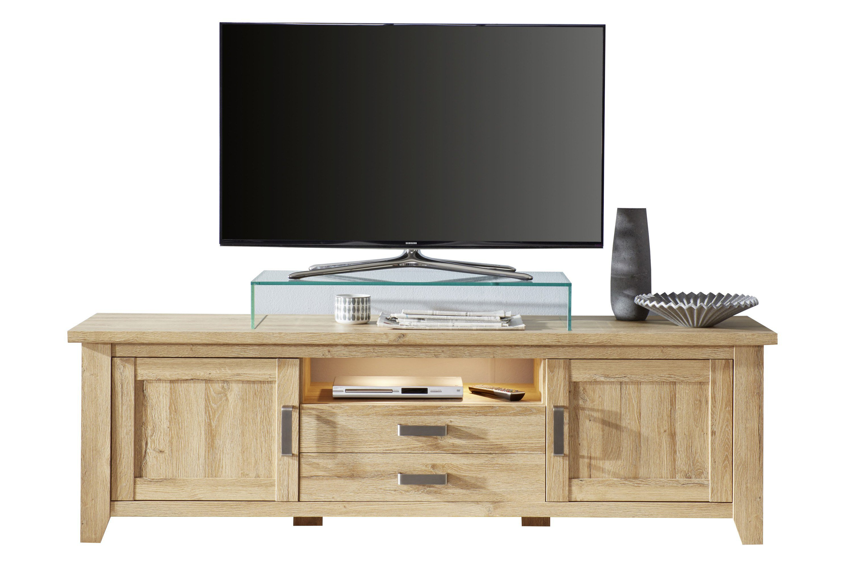 trendteam lowboard canyon alteiche m bel letz ihr online shop. Black Bedroom Furniture Sets. Home Design Ideas