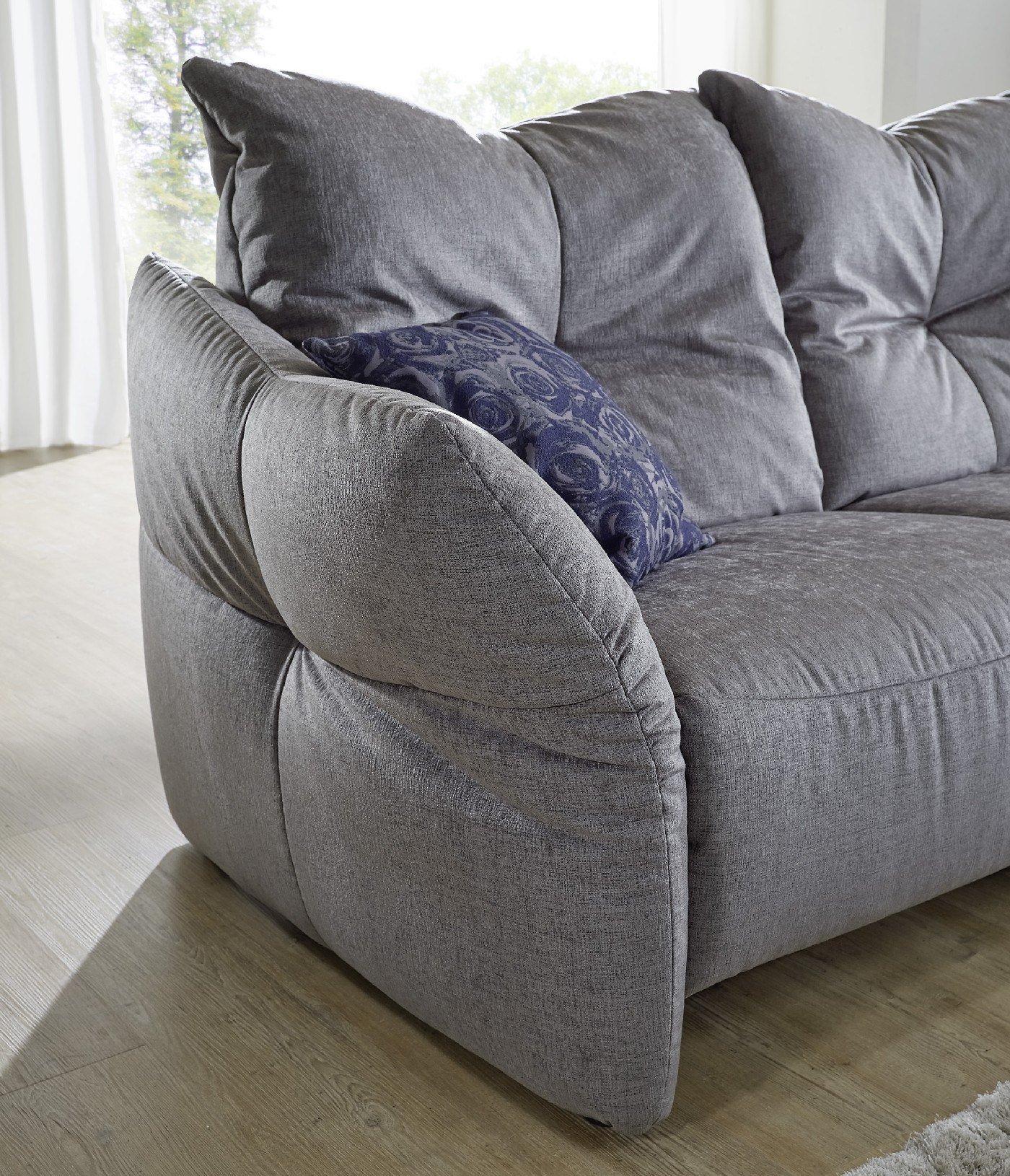 k w polsterm bel paradiso ecksofa grau m bel letz ihr. Black Bedroom Furniture Sets. Home Design Ideas