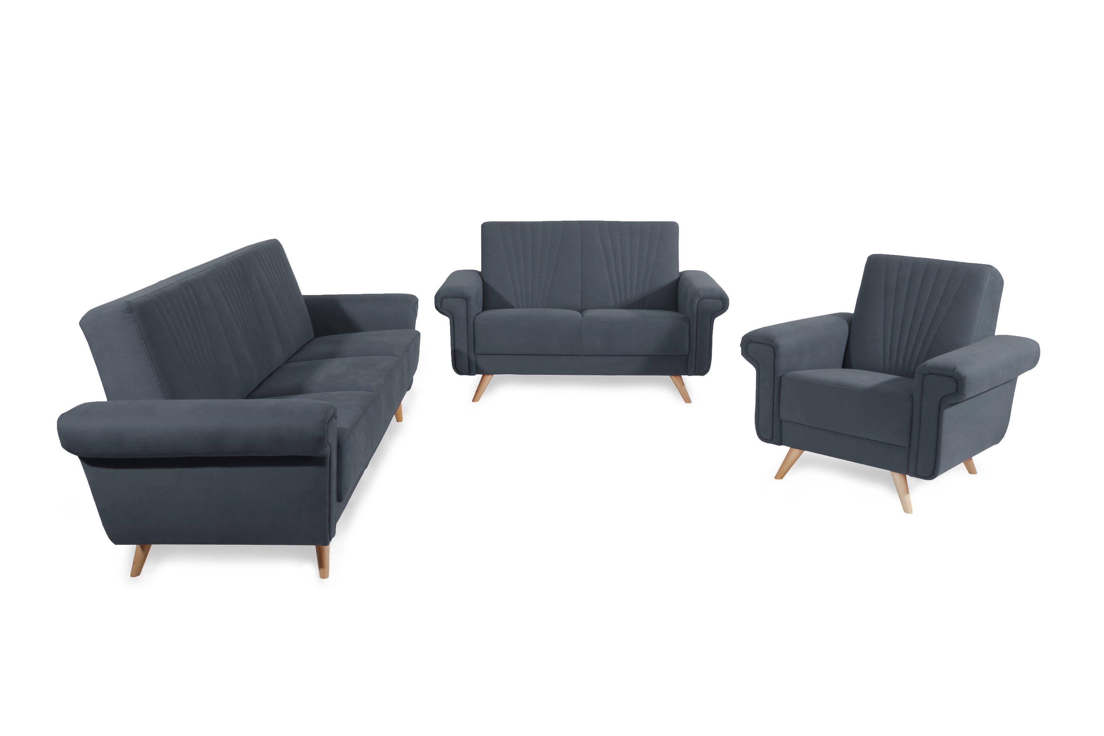 max winzer jannes sofagarnitur taupe m bel letz ihr online shop. Black Bedroom Furniture Sets. Home Design Ideas