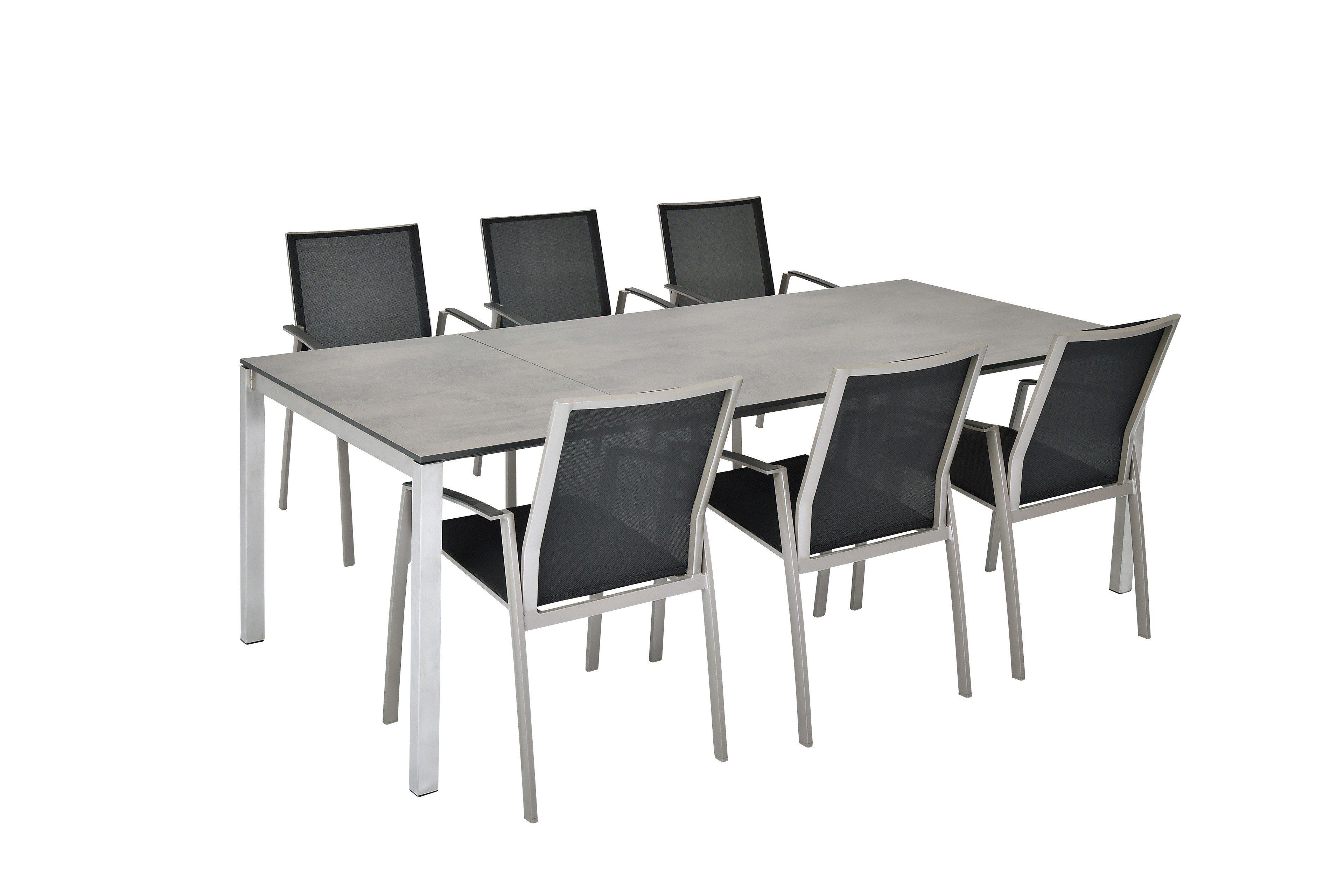 Sit Mobilia Gartentisch Mano Mit Hpl Tischplatte In Oxido Terra
