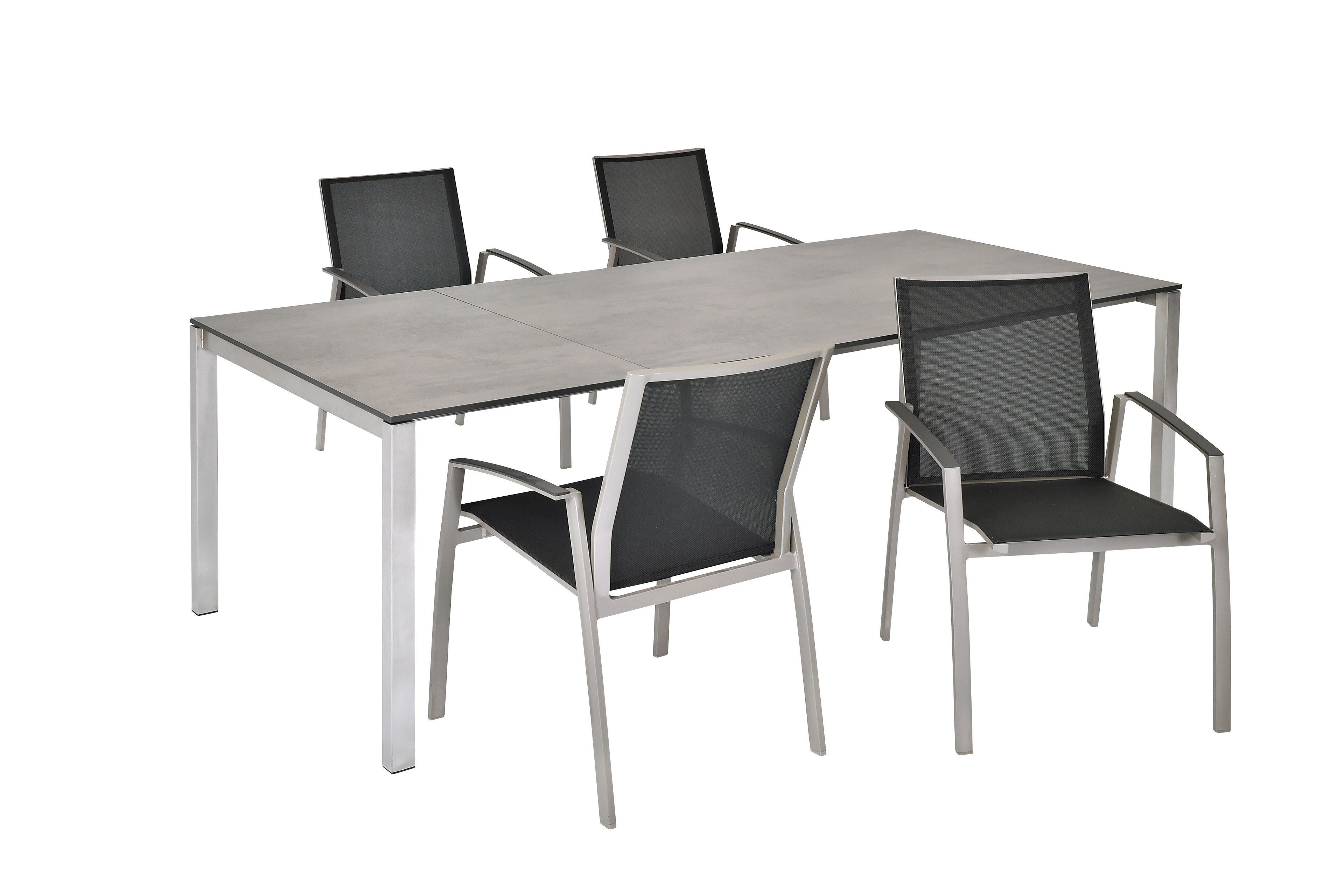 Sit mobilia gartentisch mano mit hpl tischplatte in oxido for Mobilia 1