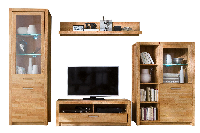 mca wohnwand fenja aus kernbuchenholz m bel letz ihr online shop. Black Bedroom Furniture Sets. Home Design Ideas