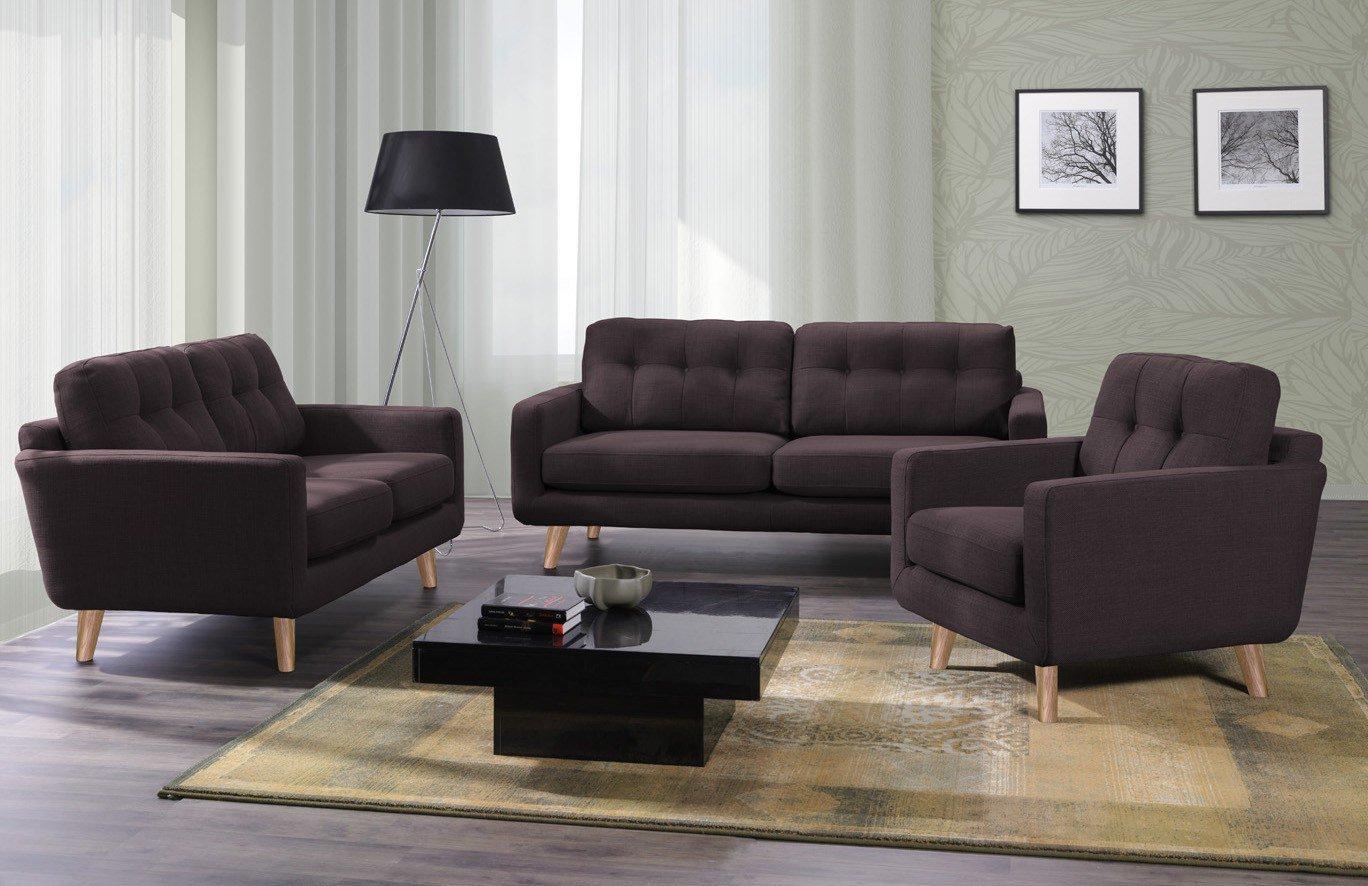 new look m bel alexander polstergruppe in braun m bel letz ihr online shop. Black Bedroom Furniture Sets. Home Design Ideas