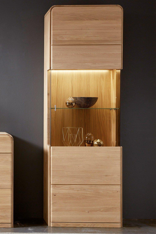inter furn sideboard round in eiche bianco m bel letz. Black Bedroom Furniture Sets. Home Design Ideas