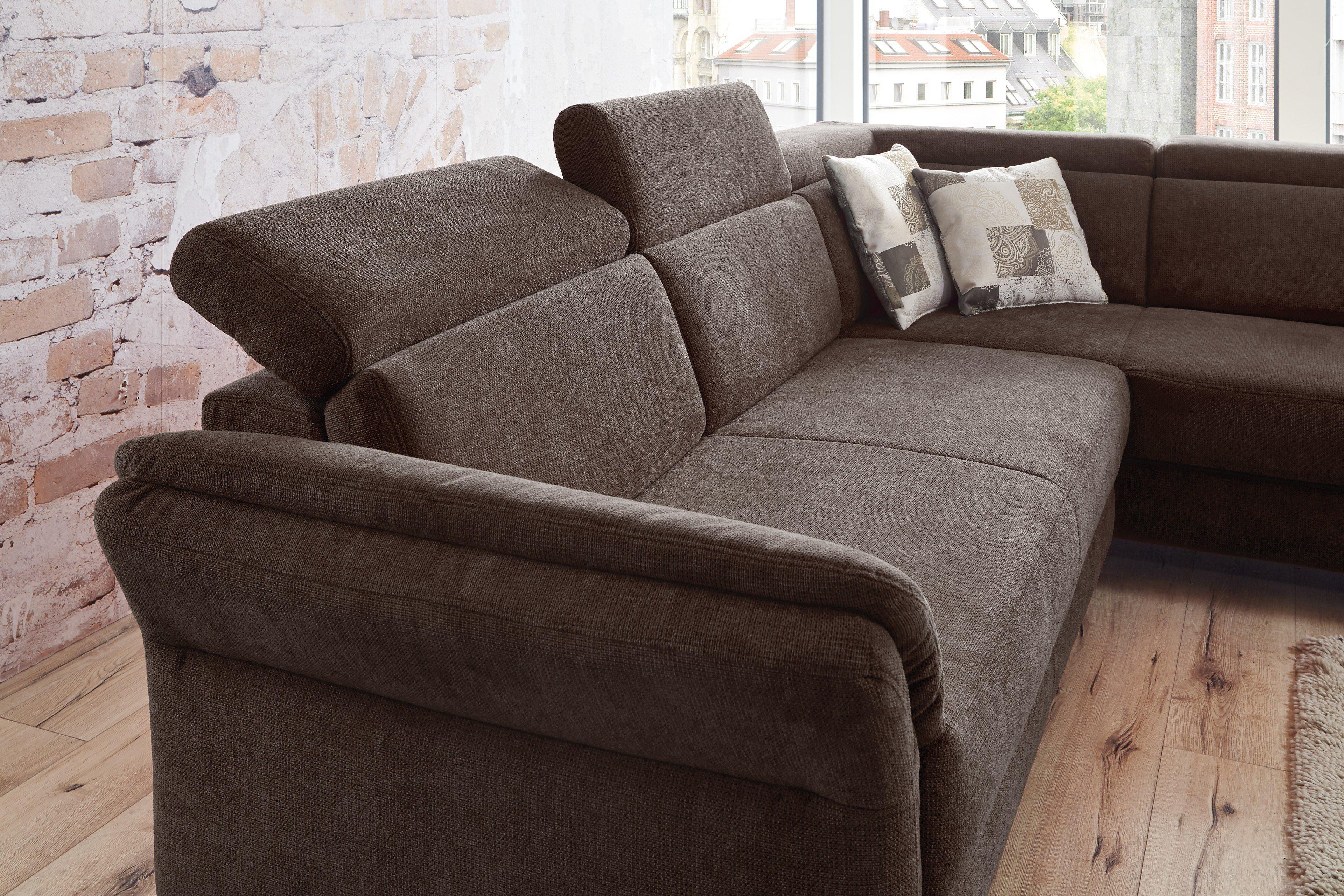 sit more avignon eckgarnitur braun m bel letz ihr online shop. Black Bedroom Furniture Sets. Home Design Ideas