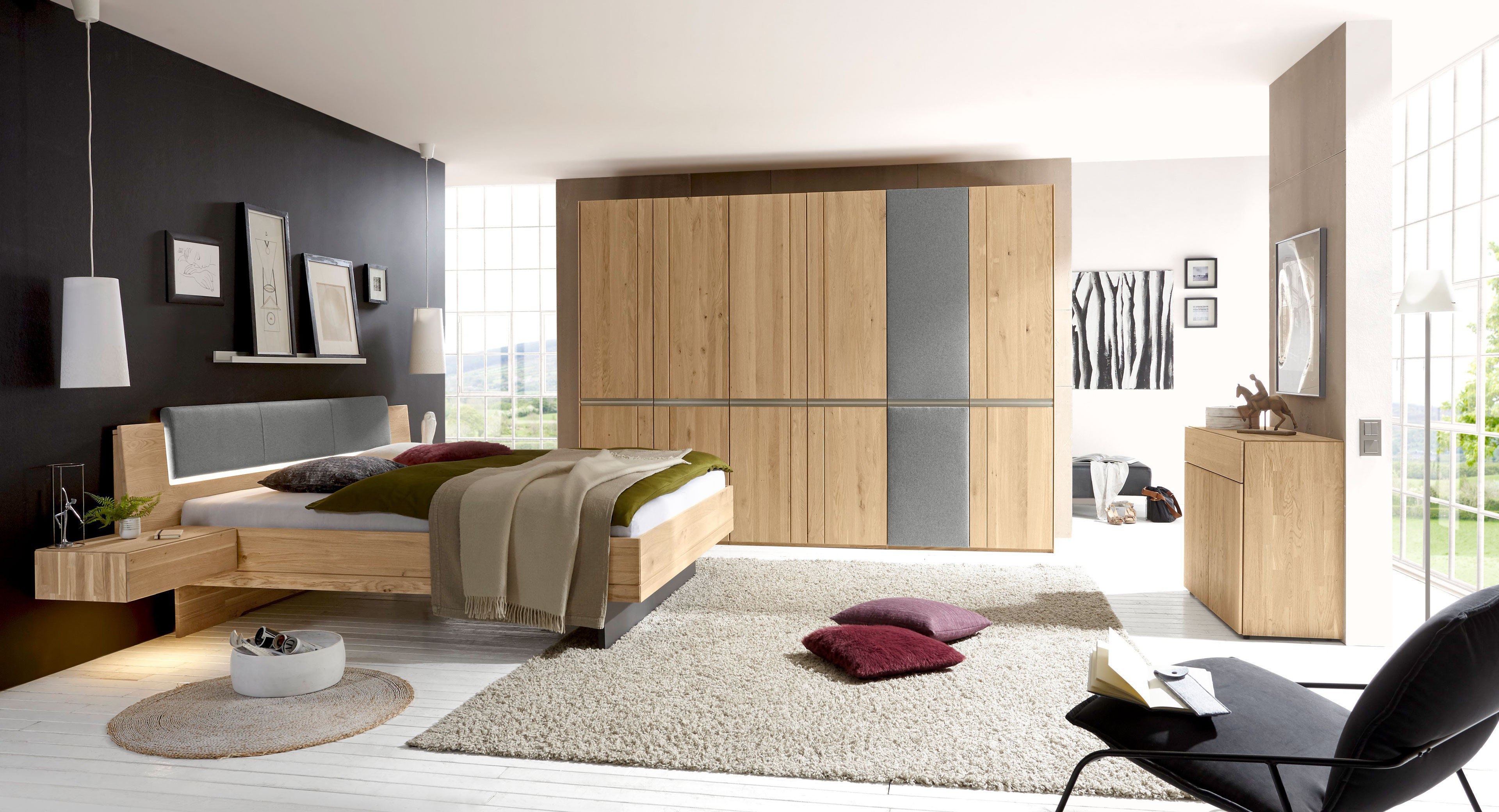 loddenkemper schlafzimmer kombination leno m bel letz. Black Bedroom Furniture Sets. Home Design Ideas