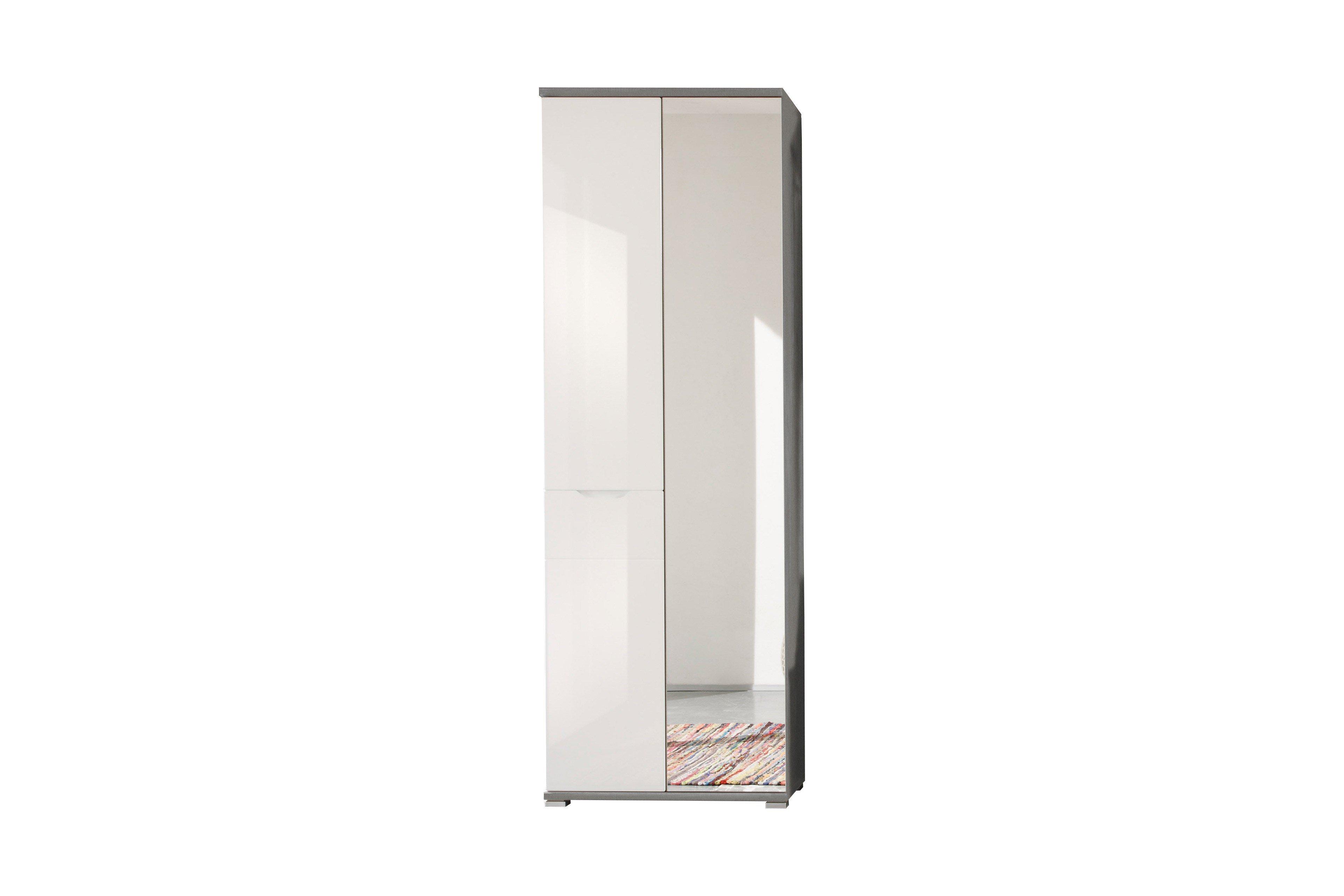 Wunderschön Garderobenschrank Weiß Referenz Von Roy Von First Look - In Weiß/