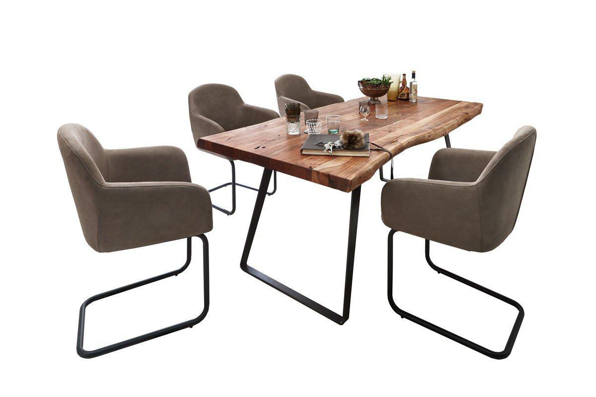 Sympathisch Esszimmer Schwingstühle Foto Von Von Niehoff Sitzmöbel - Stuhl Carlos &
