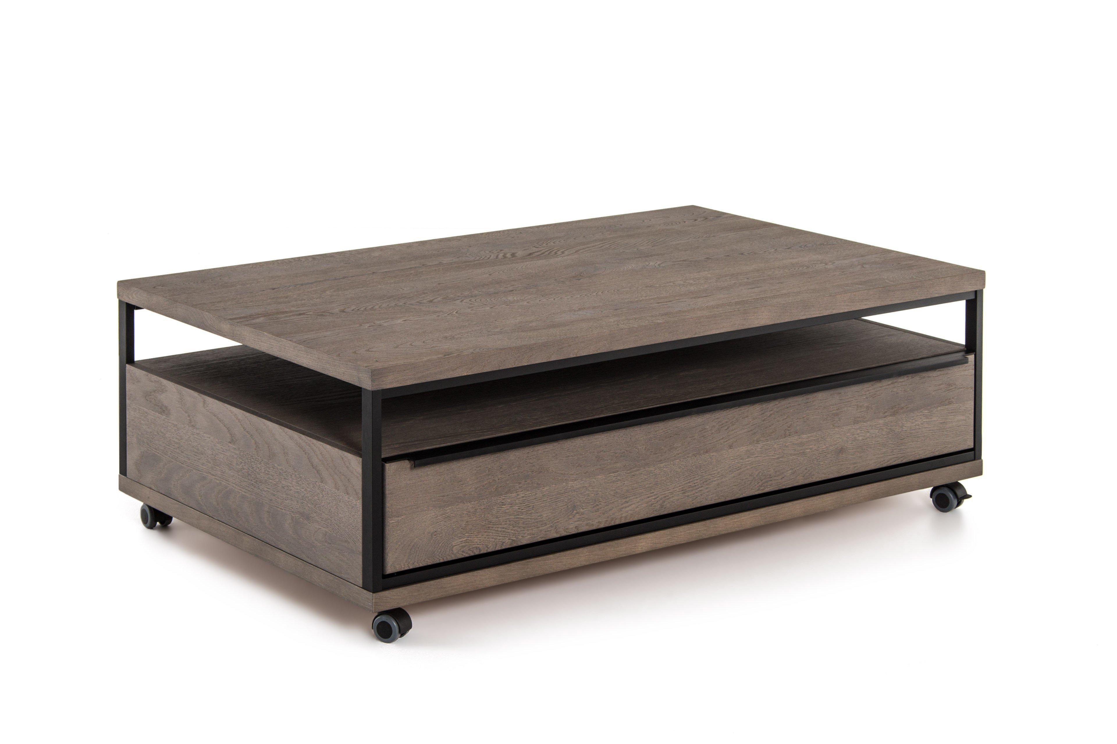 mca couchtisch avignon avi15t65 in asteiche stone grau. Black Bedroom Furniture Sets. Home Design Ideas
