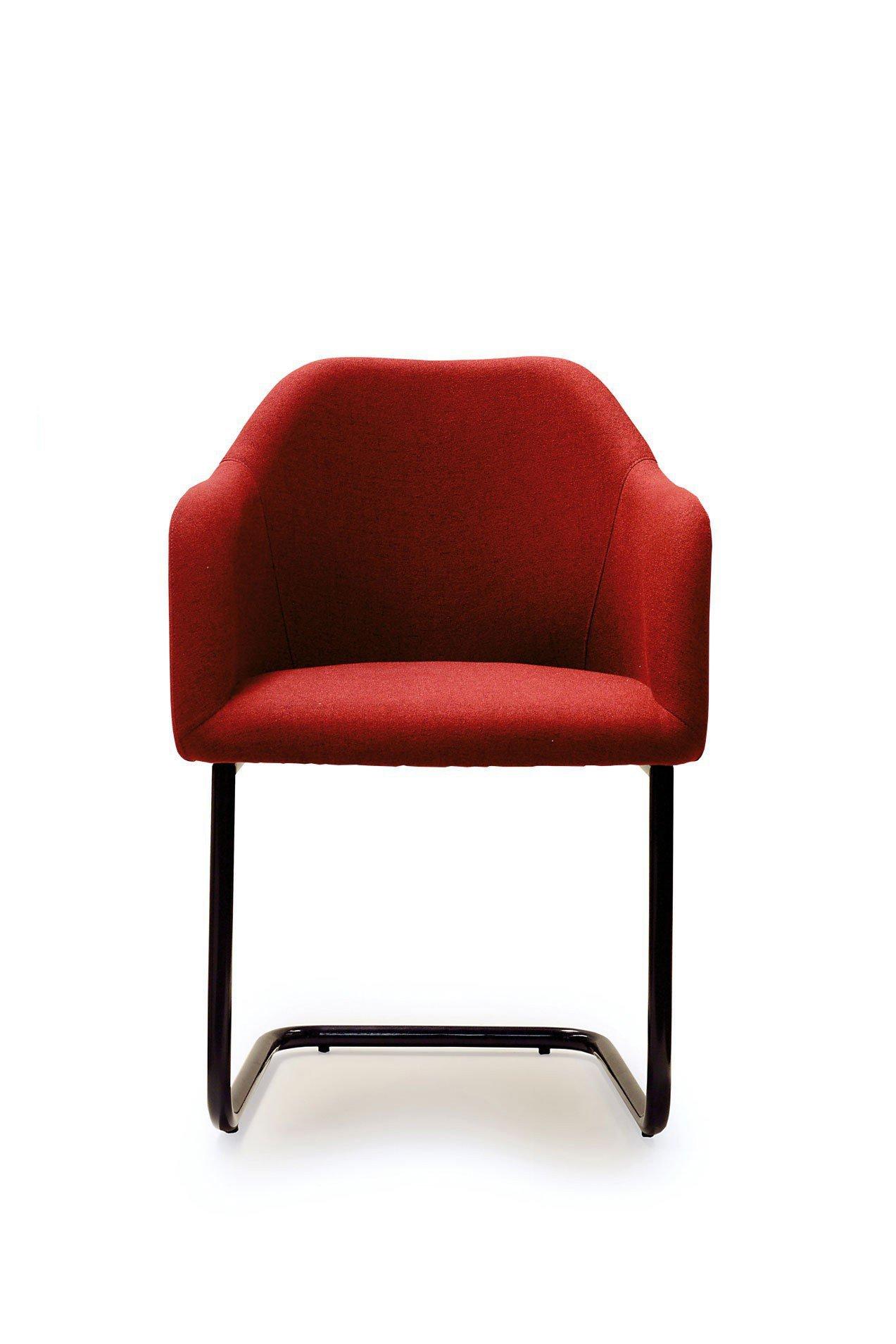 standard furniture stuhl theo in rot m bel letz ihr online shop. Black Bedroom Furniture Sets. Home Design Ideas
