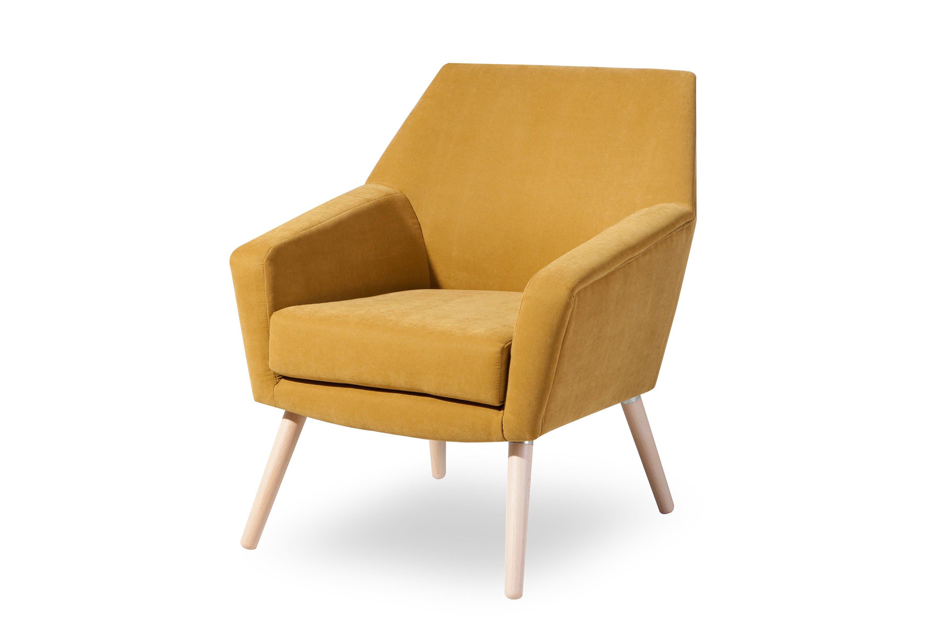 max winzer alegro sessel in gelb m bel letz ihr online shop. Black Bedroom Furniture Sets. Home Design Ideas
